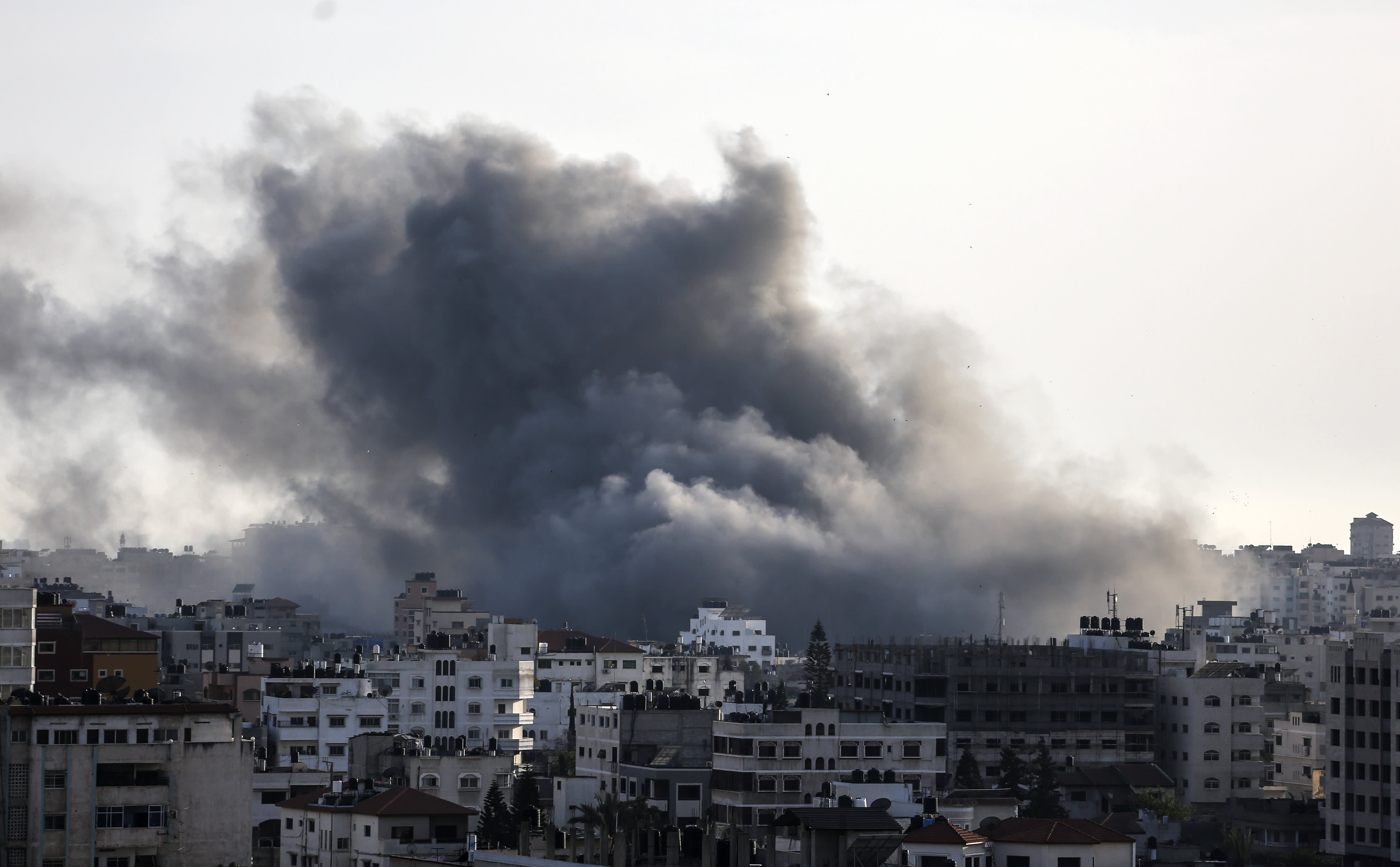 In Israel-Gaza conflict, an airstrike response to a cyberattack will be closely watched by experts