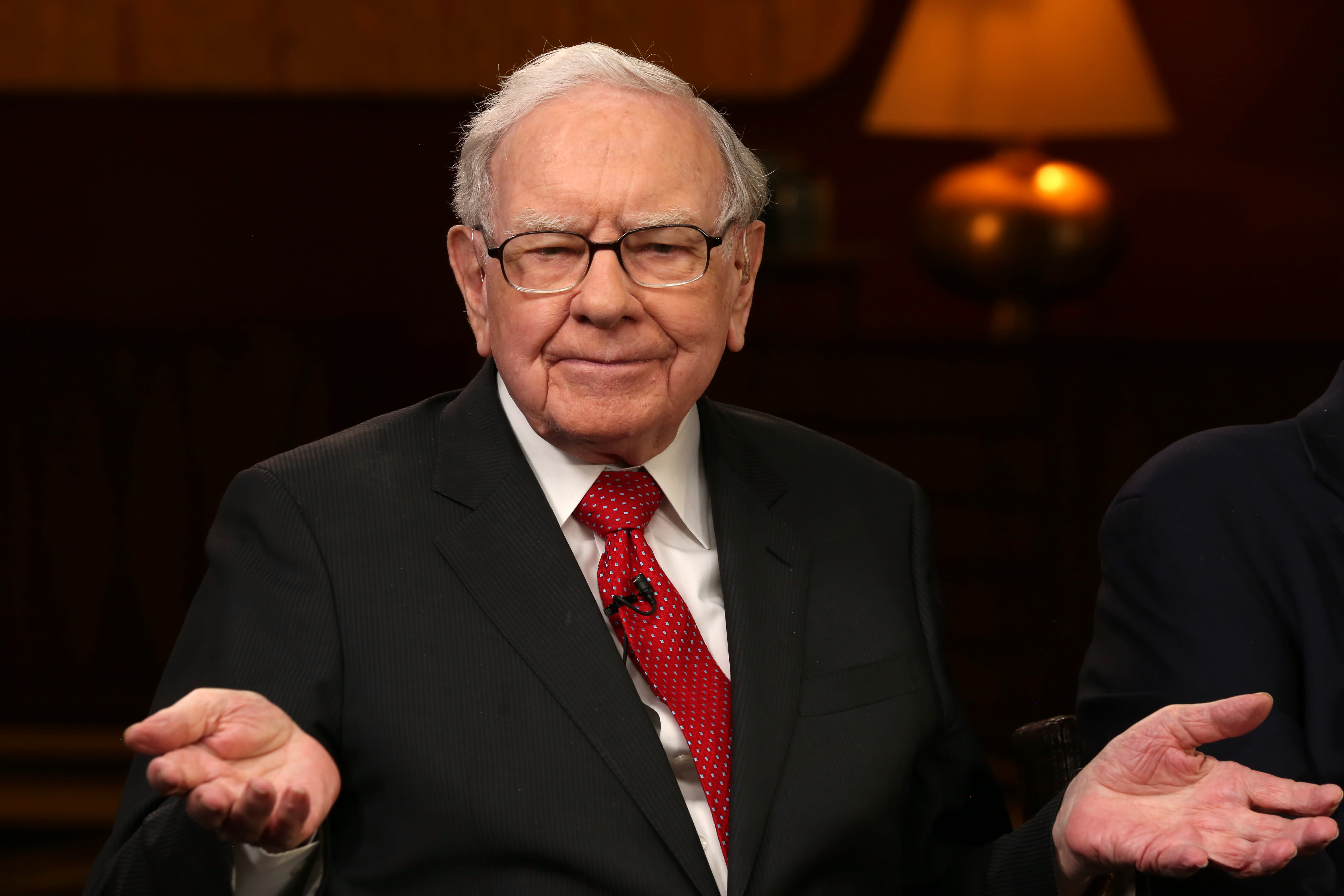 Warren Buffett says stocks look like 'intelligent investments' compared to bonds today