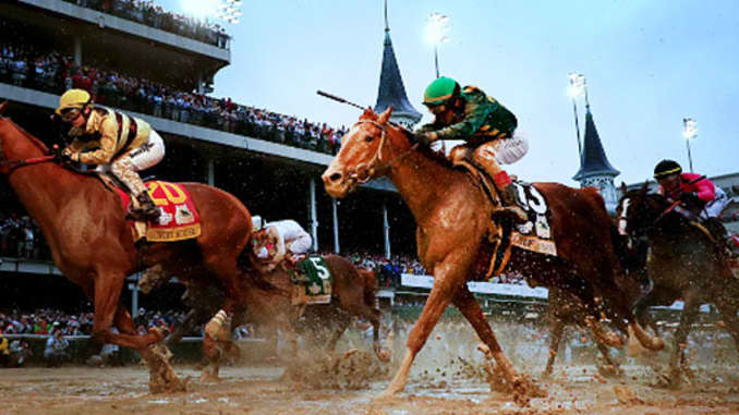 How much money the winning jockey at the Kentucky Derby earned