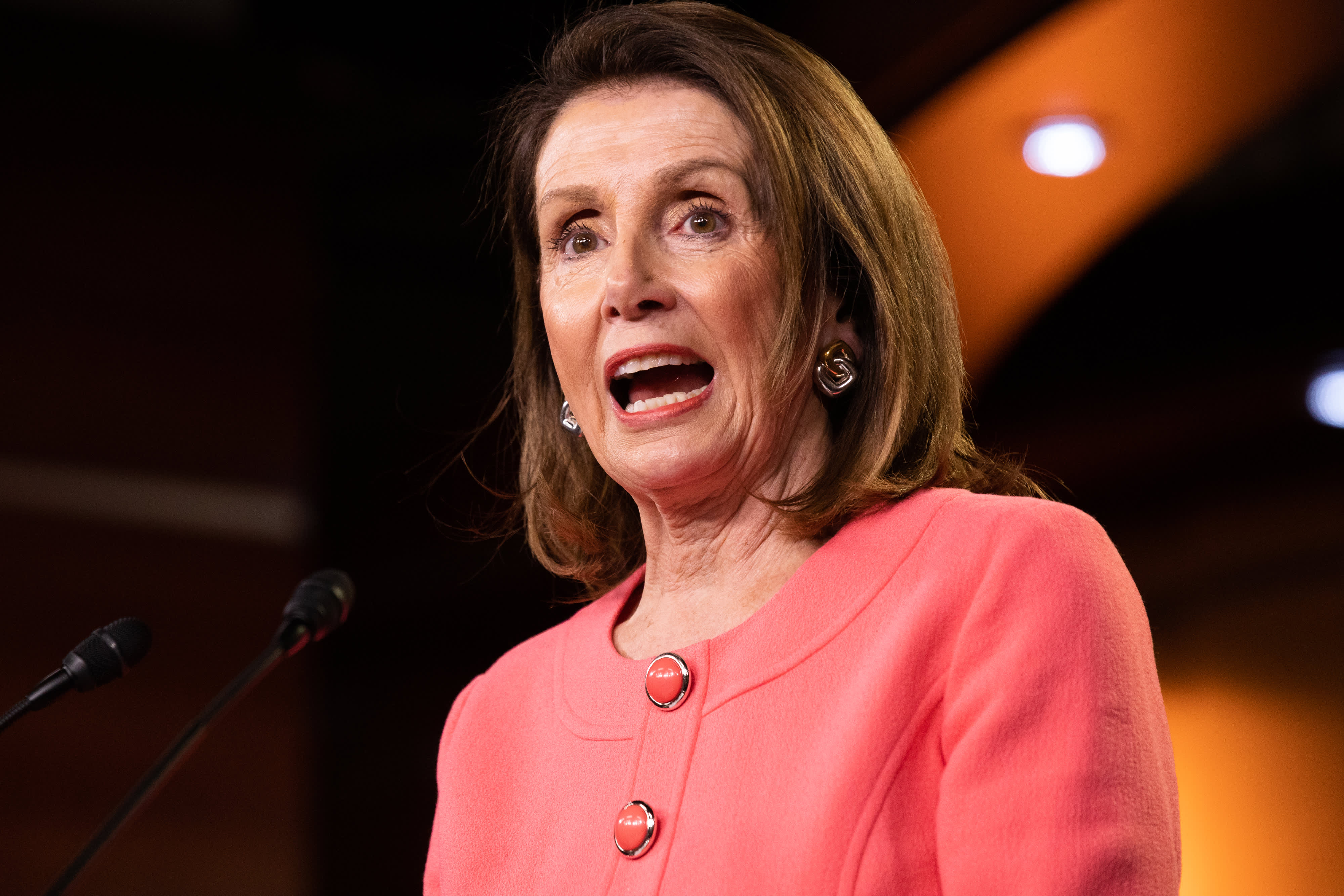 Nancy Pelosi Trump Is Goading Democrats To Impeach Him To Solidify His Base