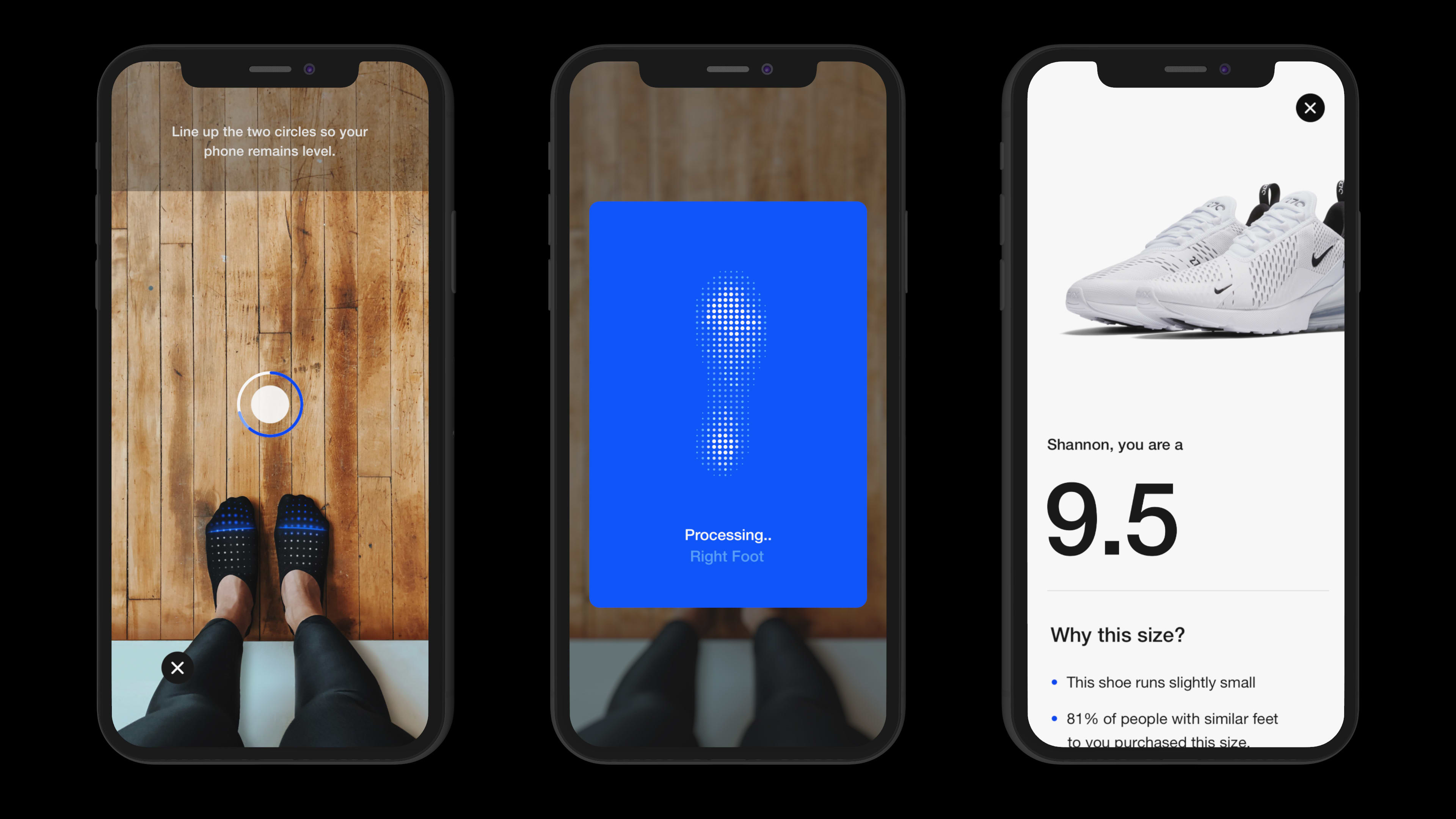 f3fac4d63ec Nike s app will soon be able to scan your foot and tell you your shoe size.  Here s how it ll work