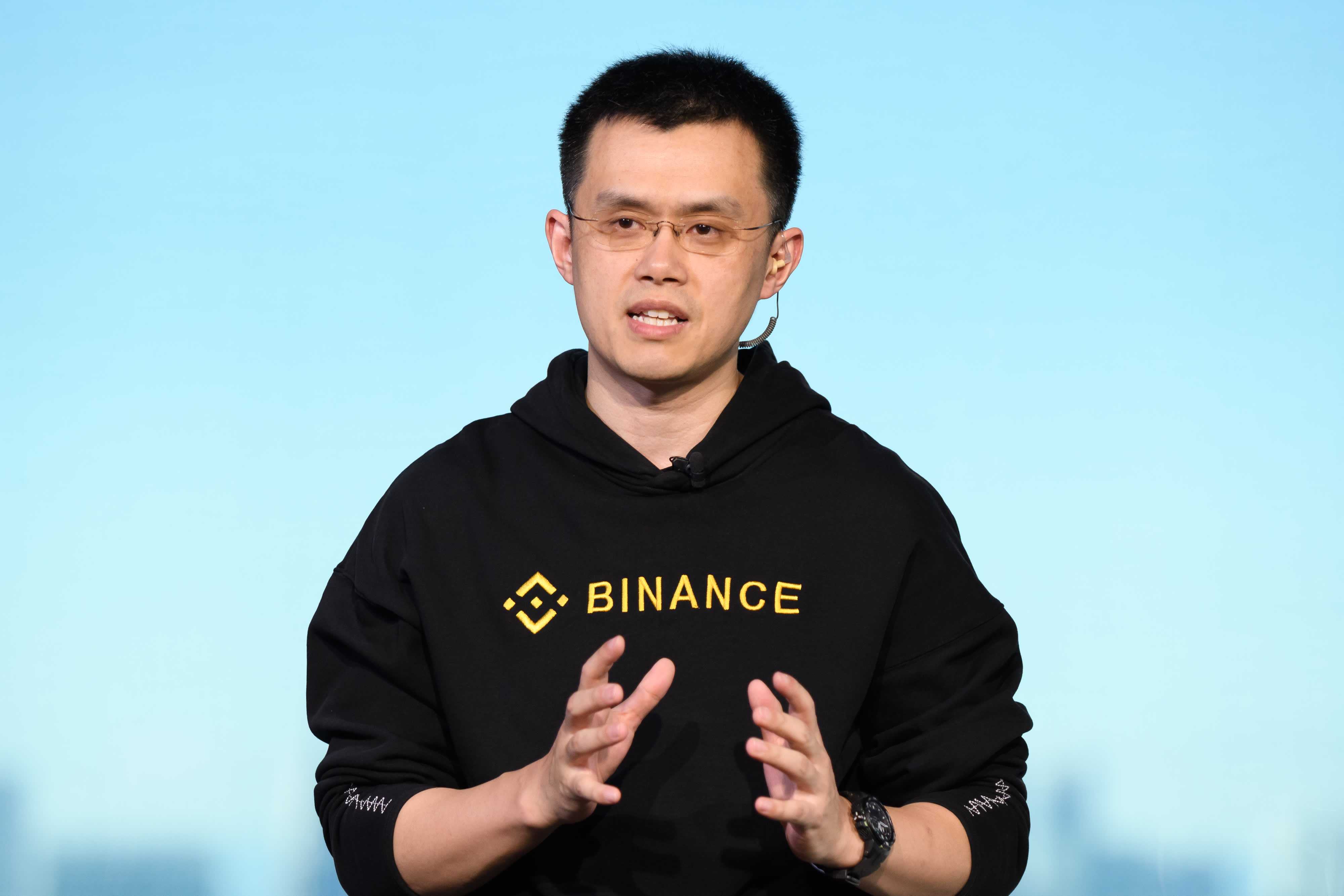 Trump talking about crypto can only be a good thing, CEO of top exchange Binance says