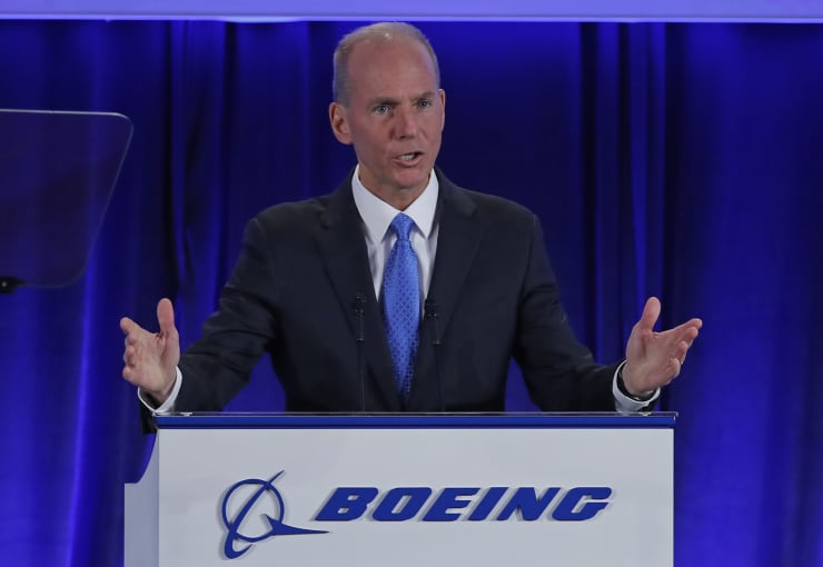 GP: Boeing Chief Executive Dennis Muilenburg Holds Annual Shareholders Meeting In Chicago