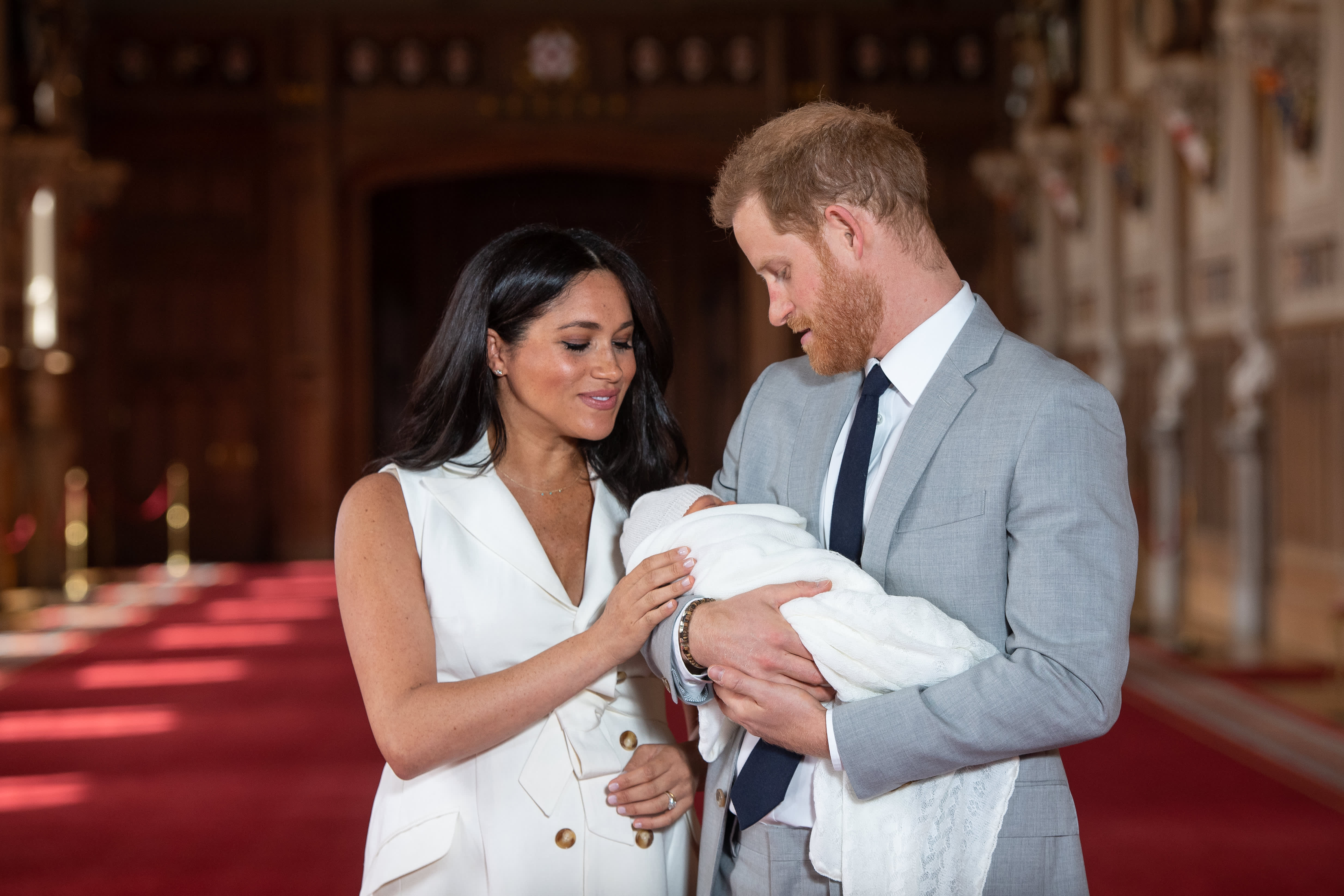 Is the royal baby here now