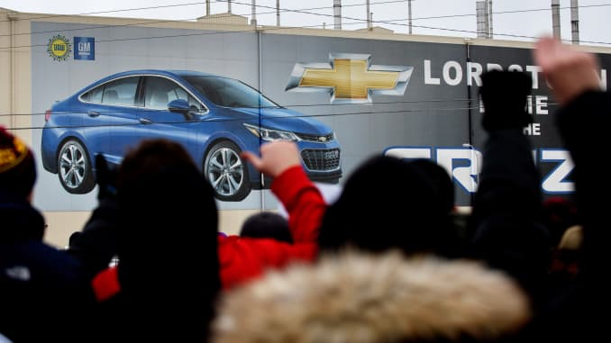 GS: GM Ends Production At Lordstown Assembly Plant 190306