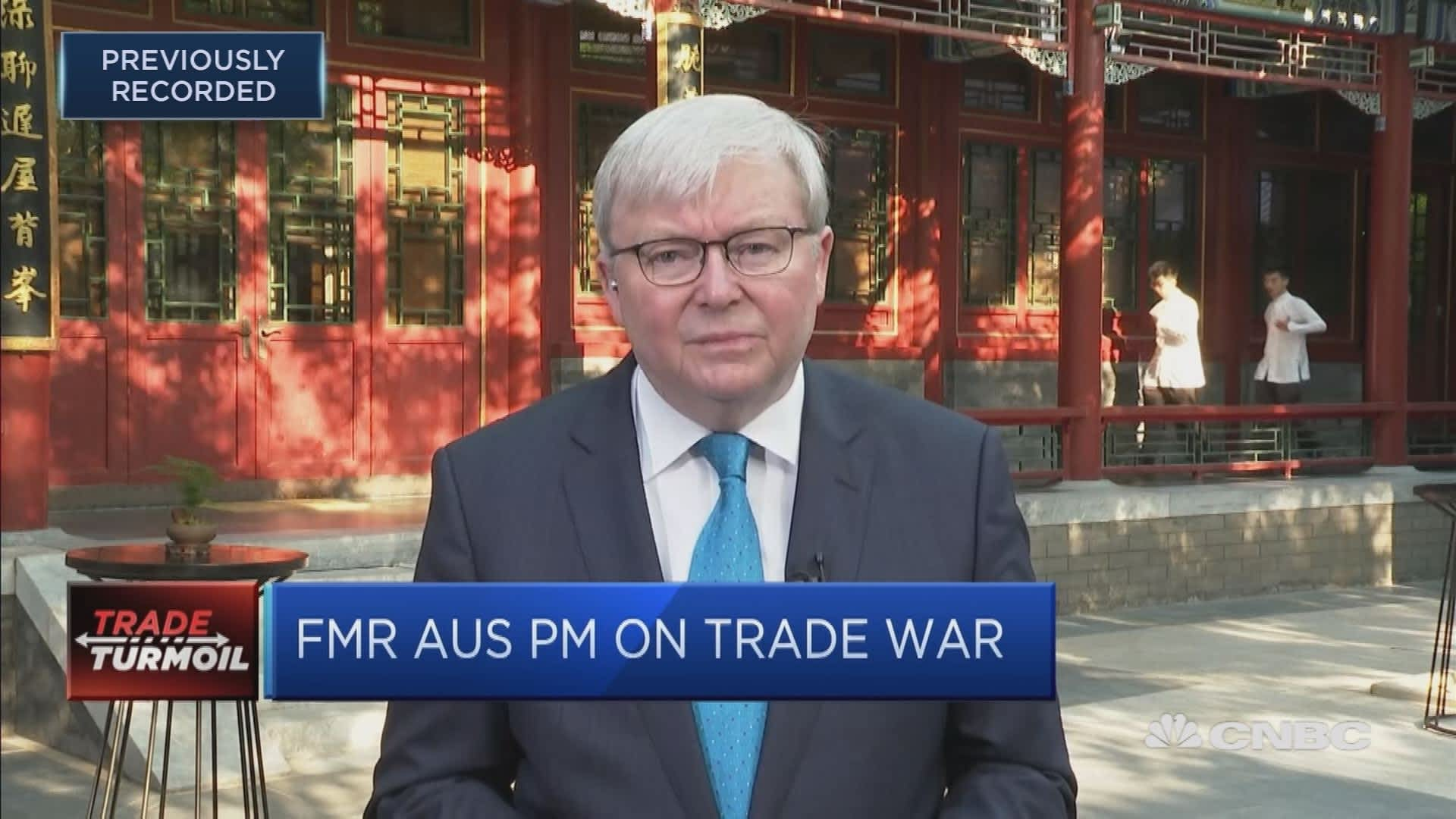 There S A Movement Of Low Level Defiance In China Kevin Rudd