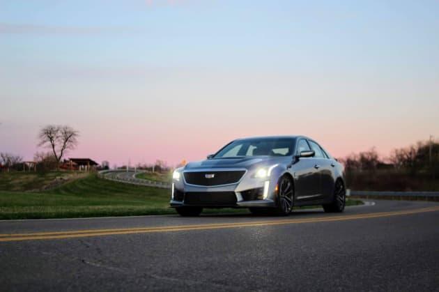 Review: Cadillac's $100,000 2019 CTS-V sports sedan gives