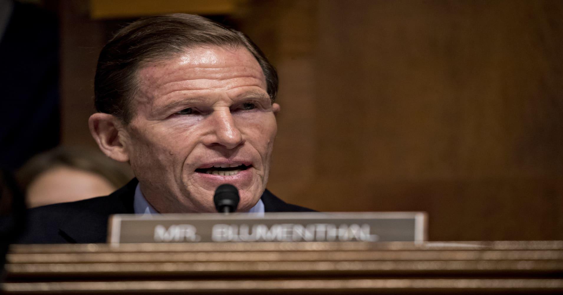 Facebook needs to be broken up, says Senator Richard Blumenthal