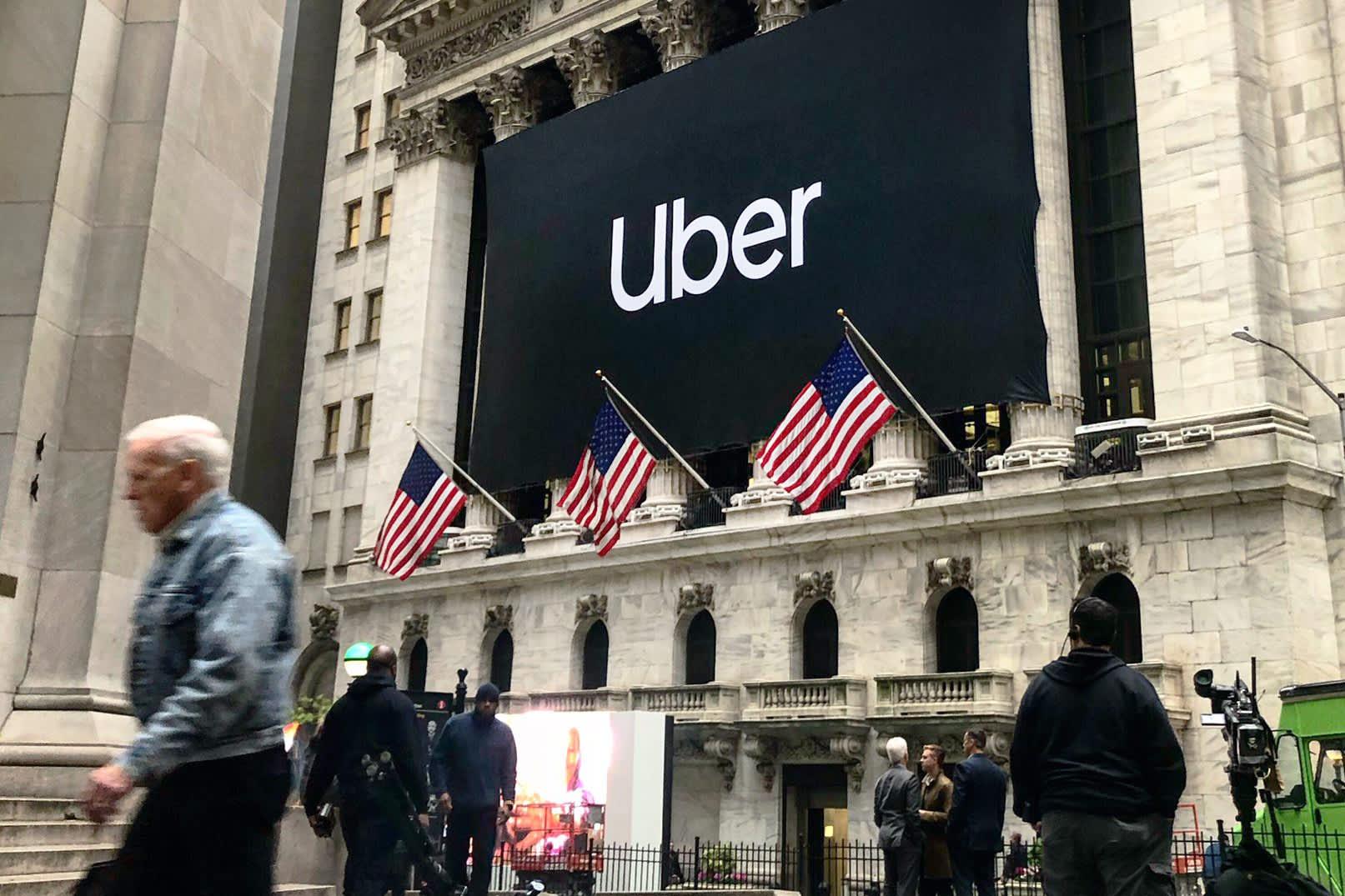 Stocks making the biggest moves midday: Uber, Tesla, Ulta, Zoom Video & more
