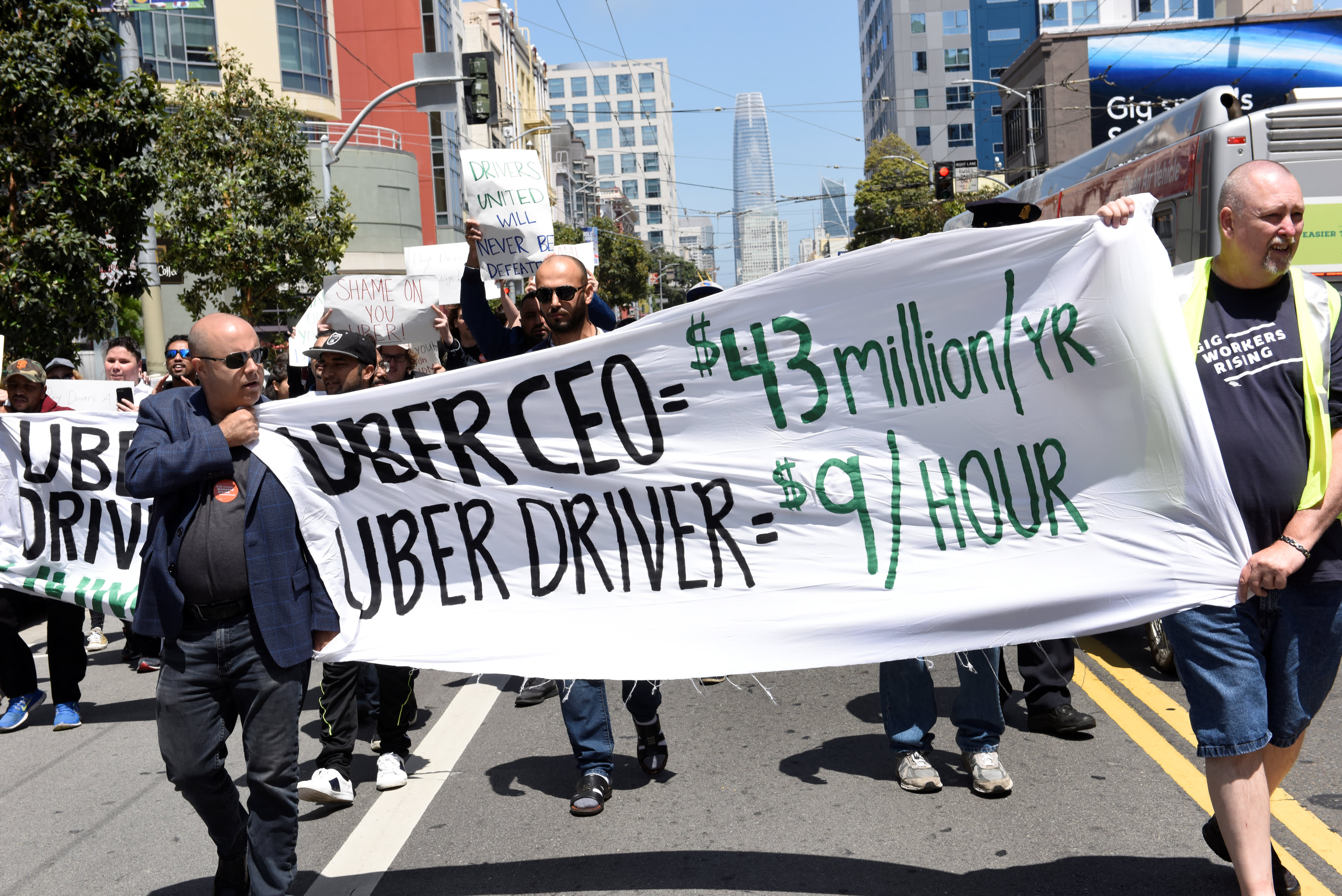 Uber, Postmates lawsuit against California gig-workers law is 'very weak,' congressman says