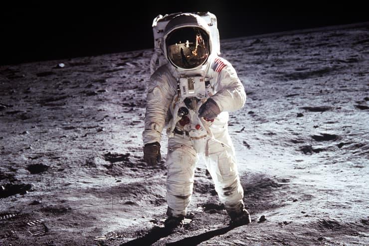 H/O: Buzz Aldrin on the Moon