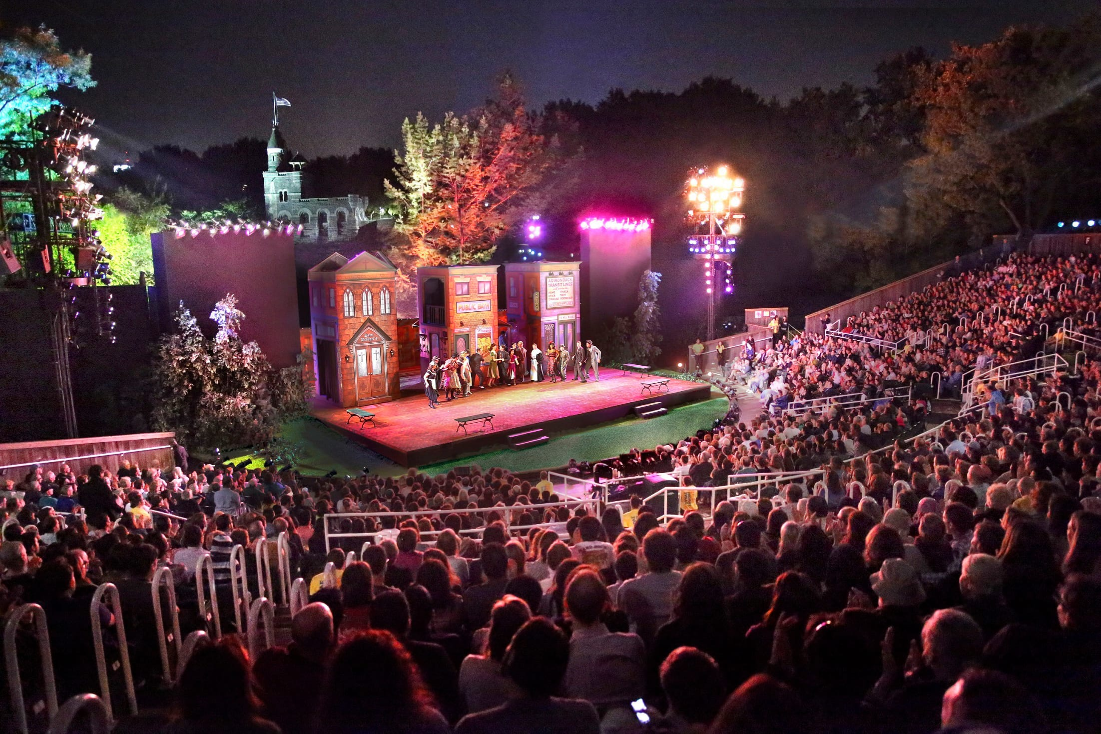 H/O: The Public Theater's Free Shakespeare in the Park