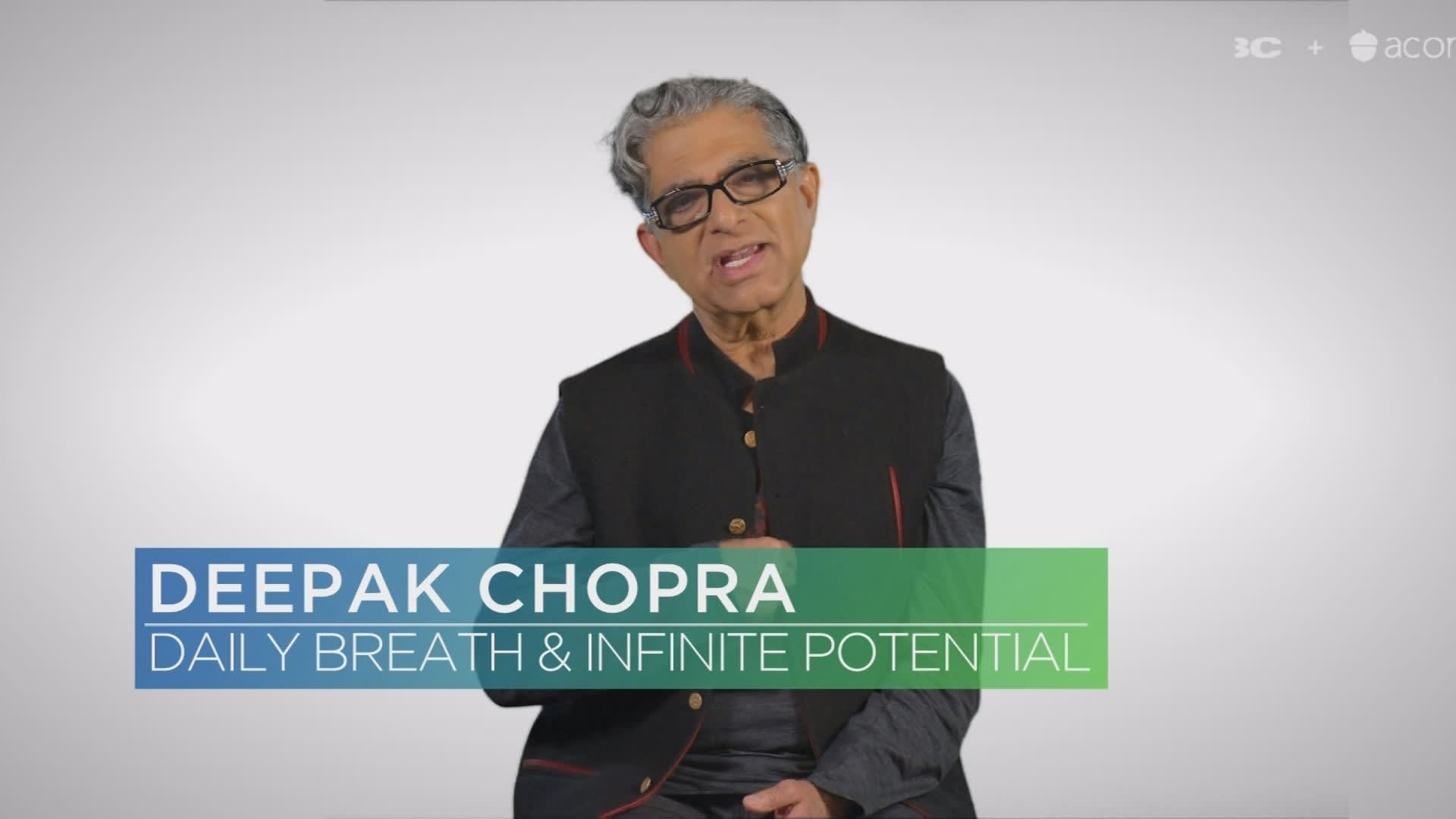 Deepak Chopra: How to stay calm and avoid impulsive actions in a volatile market