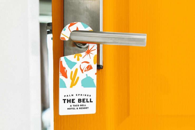 H/O: Taco Bell hotel door 190514