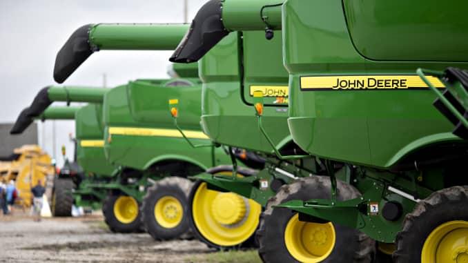 GP: John Deere harvesters 180828