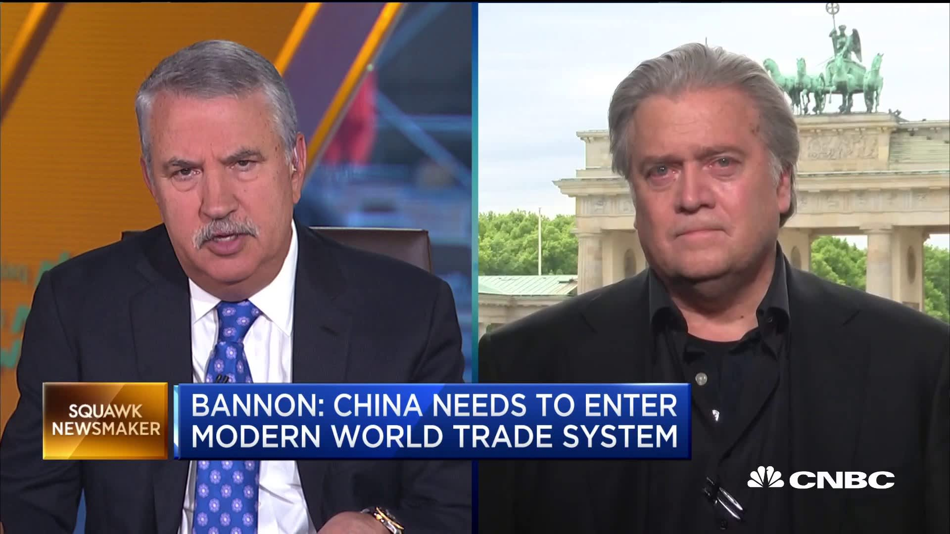 Opposites attract: Even Steve Bannon and Tom Friedman agree Trump is right to attack on China trade