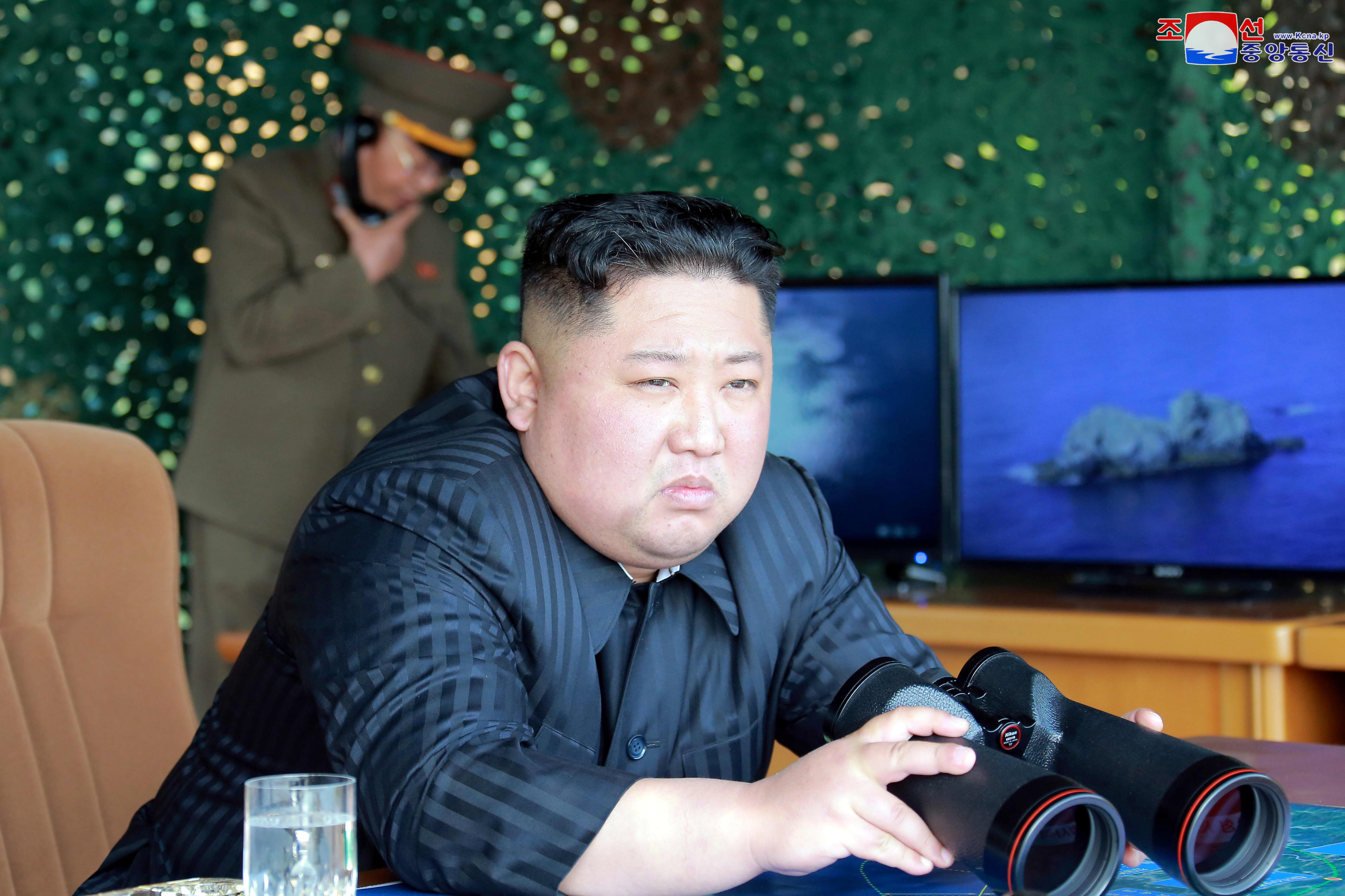 North Korea's Kim Jong Un says missile launches are warning to US, South Korea over drill