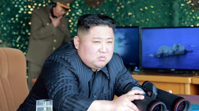 RT: Kim Jong Un missile launch 190505