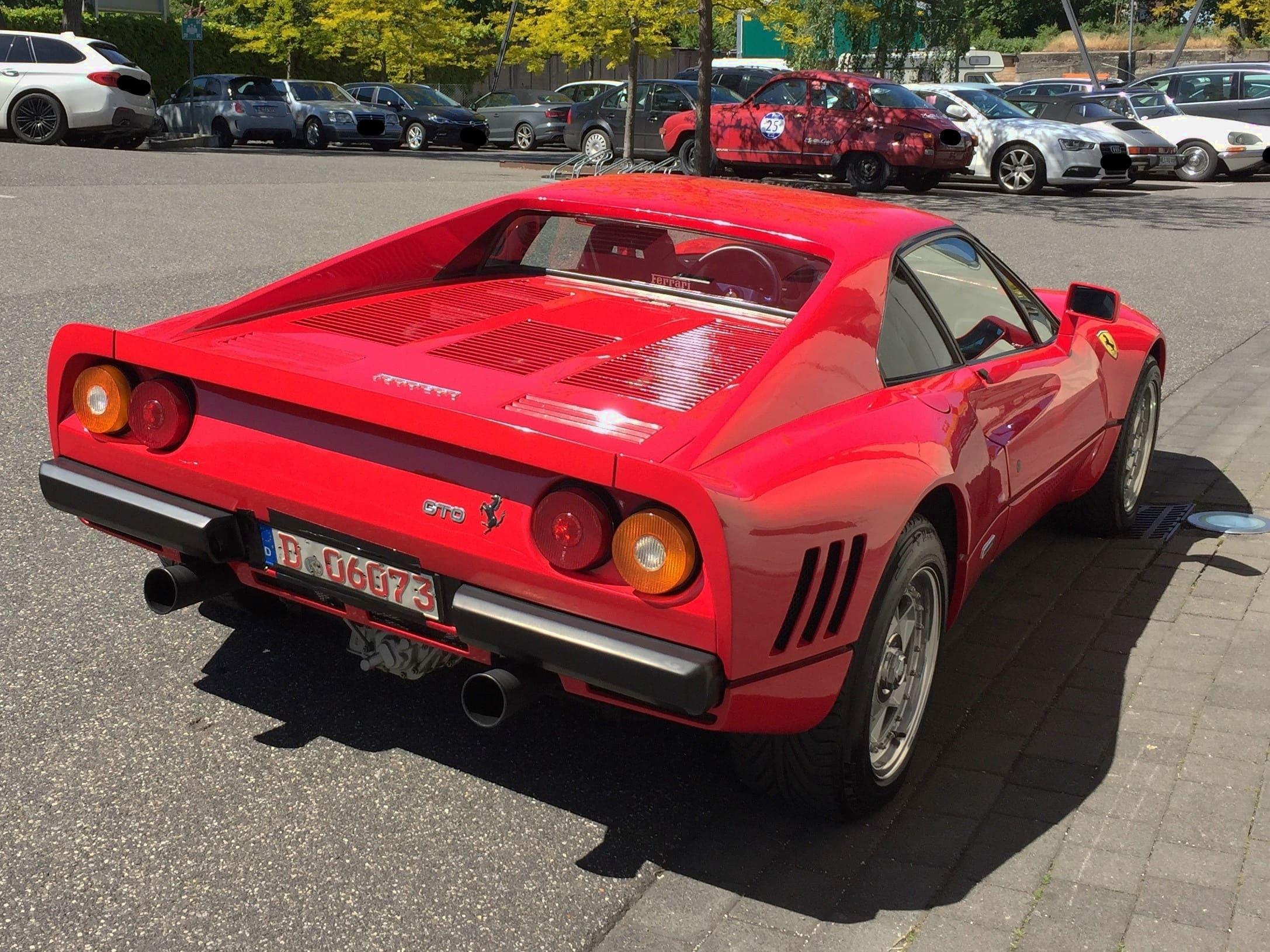 Ferrari Stolen On Test Drive