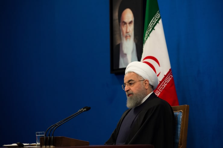GP: Iran's President Hassan Rouhani 190516