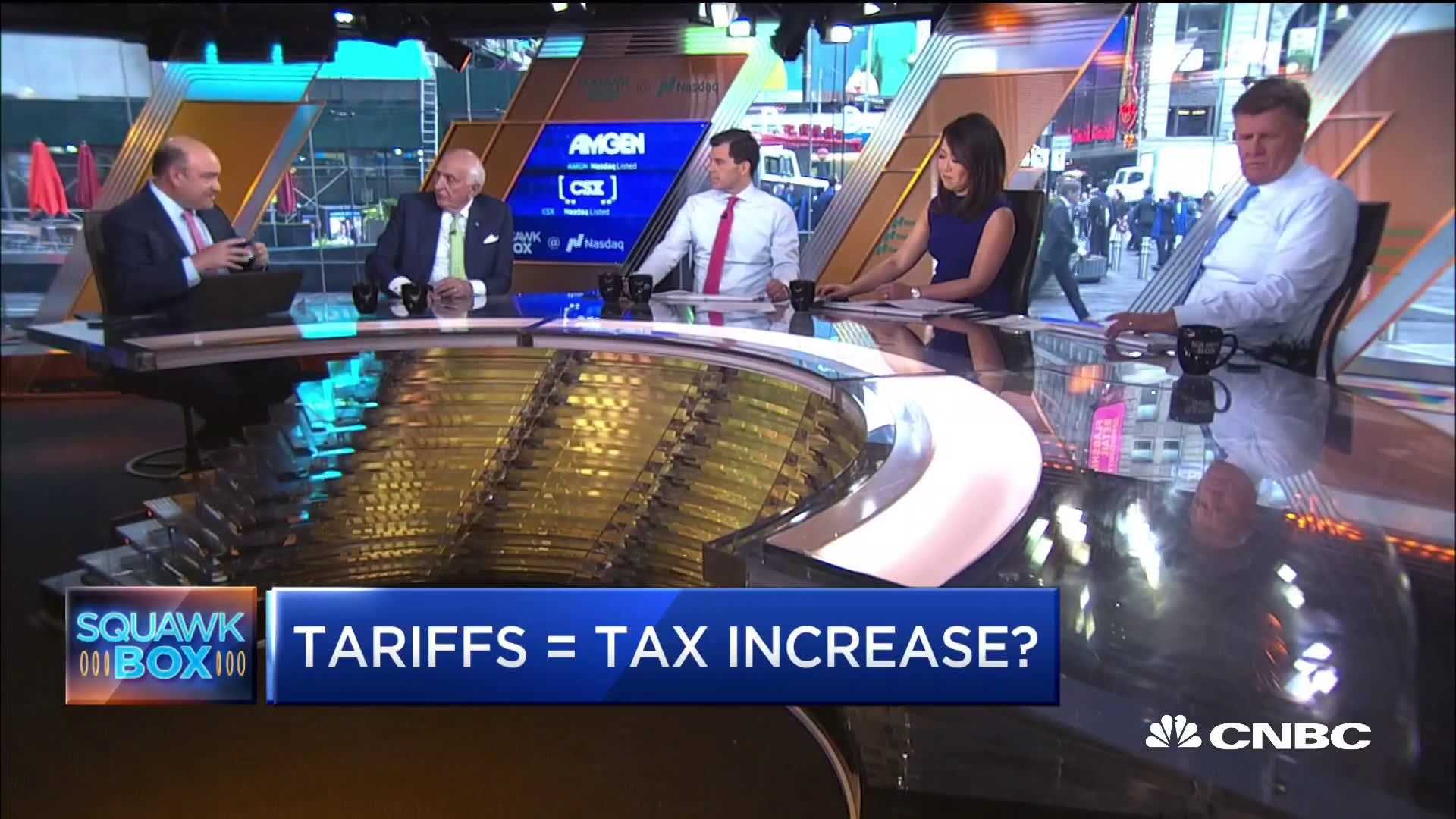 Trump's tariffs are equivalent to one of the largest tax increases in decades