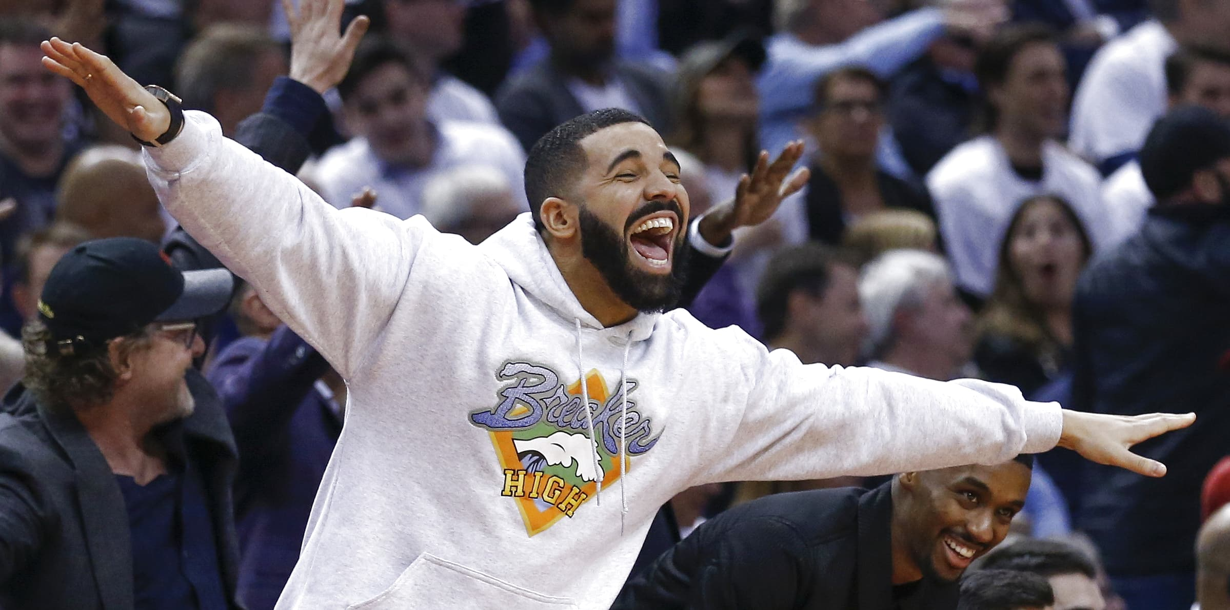 423aa97cc728 Michael Rubin jokes about  hatred  for Drake using curse against 76ers