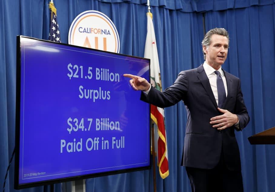 AP: Gov. Gavin Newsom Budget 190509