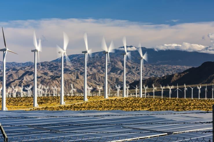 GP: SOCAL Wind Turbines and Solar Panels