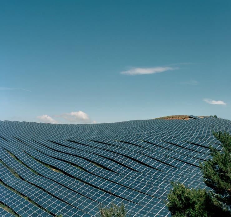 GP: Solar panels field