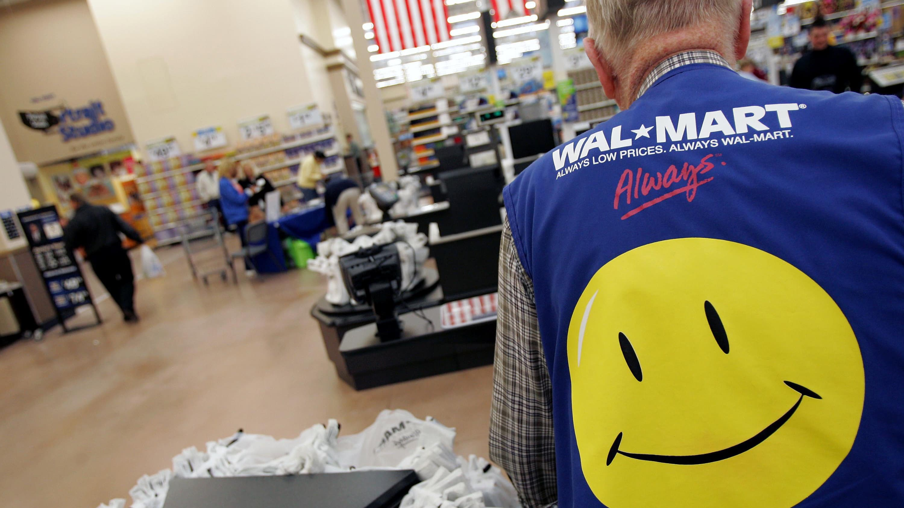 Here's how much a $1,000 investment in Walmart 10 years ago would be worth  now