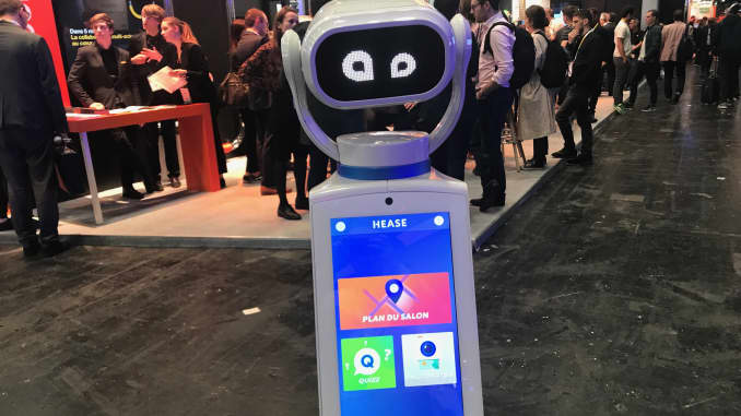 """Résultat de recherche d'images pour """"SoftBank Robotics, Hease Robotics, exhibition"""""""