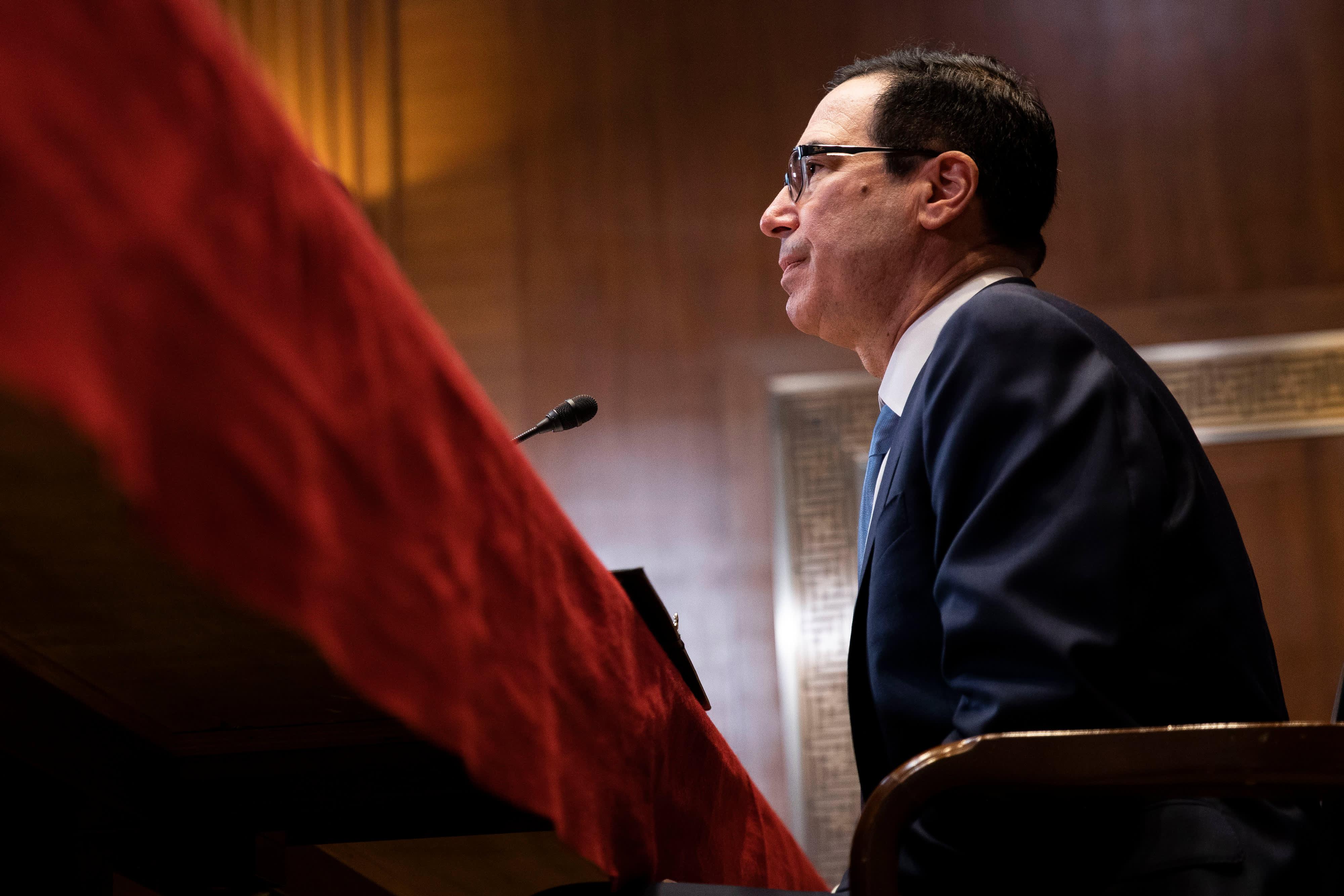 Treasury Secretary Steven Mnuchin and IRS chief expected to ignore subpoena deadline for Trump's tax returns, setting up court fight