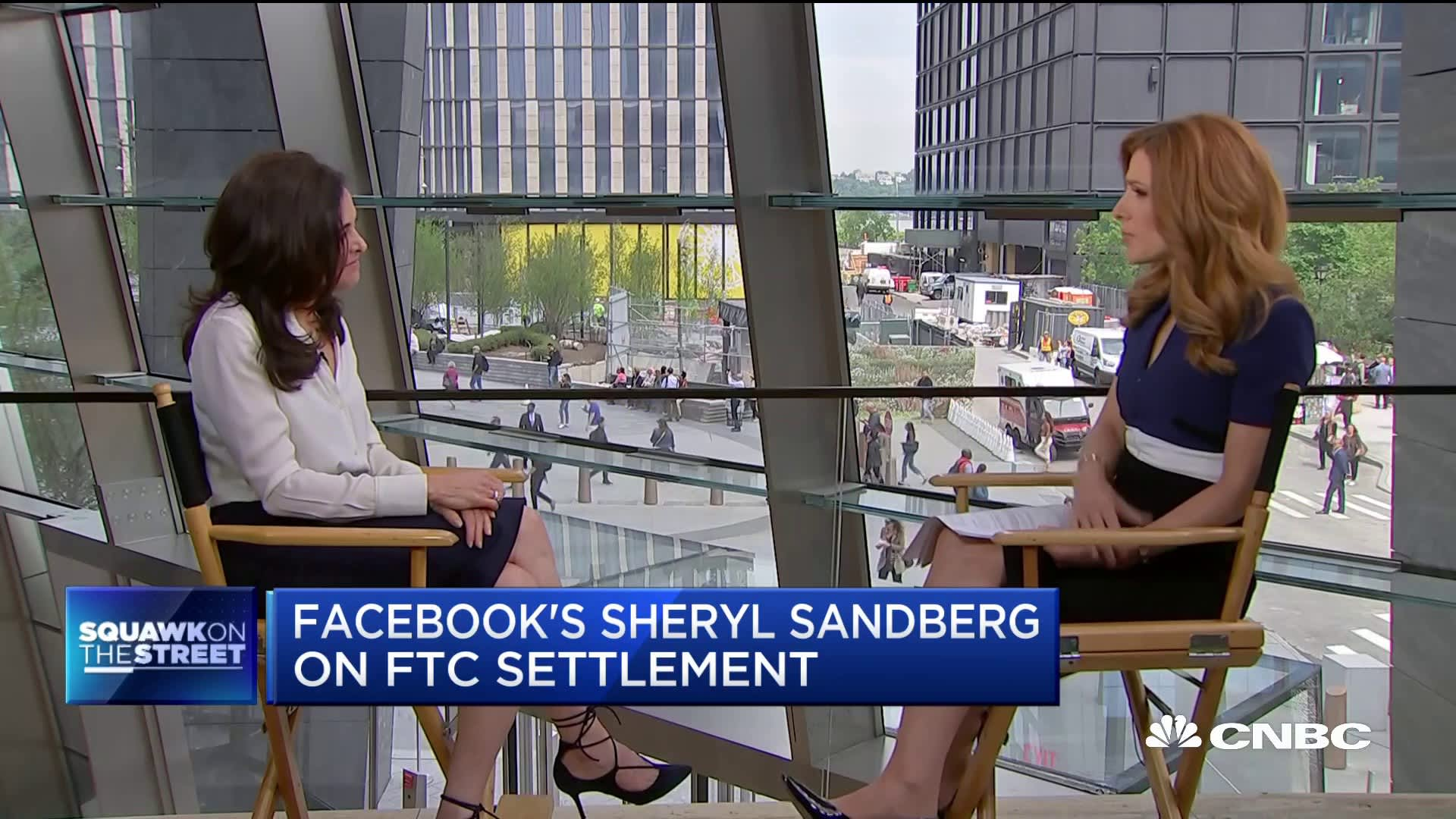 Facebook's Sheryl Sandberg: Chinese tech companies are also powerful, and will not be broken up