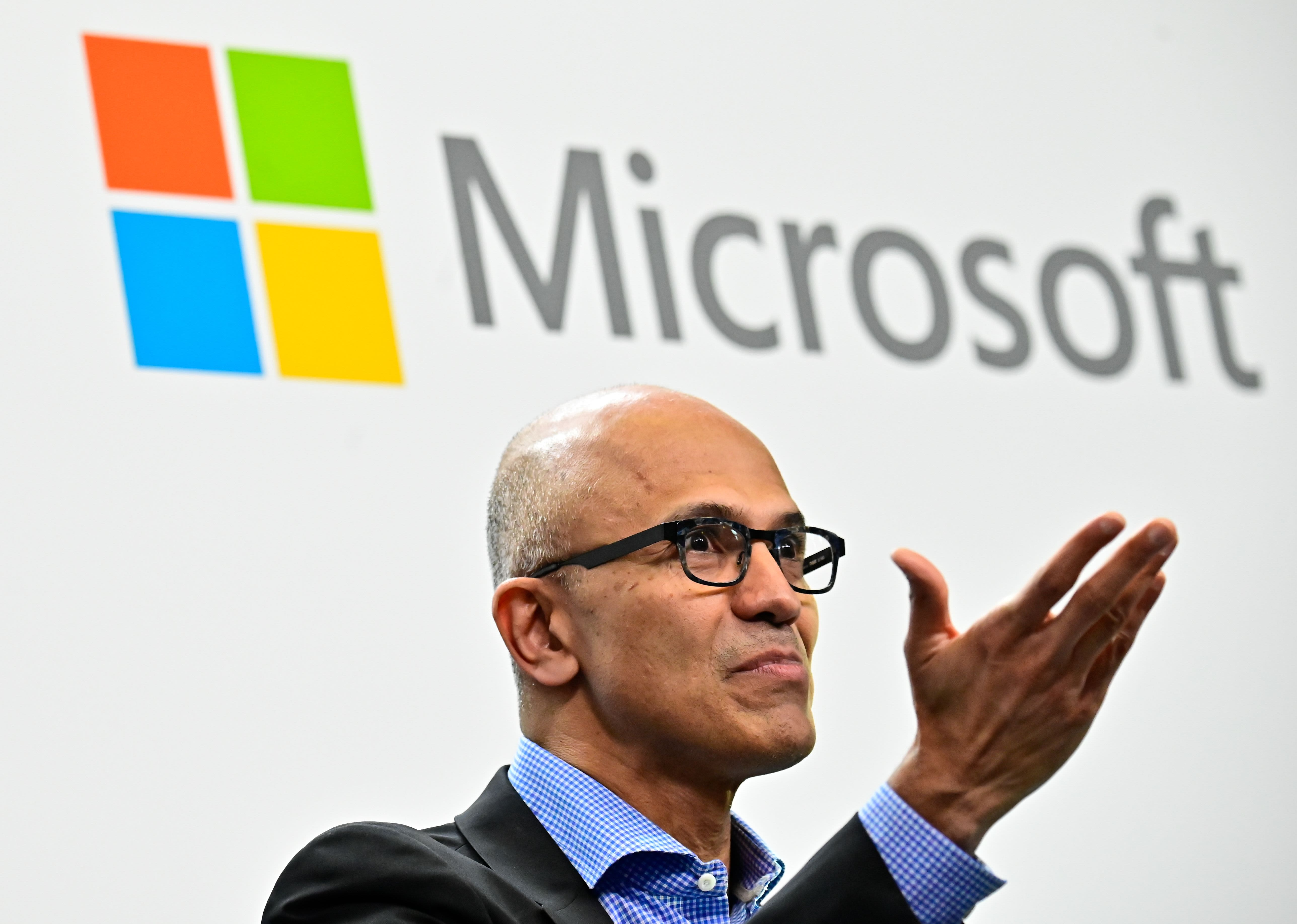 Microsoft CEO Satya Narayana Nadella.