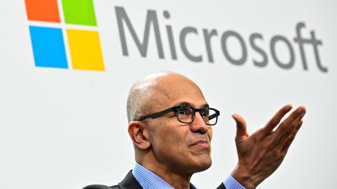 GP: Microsoft Satya Nadella