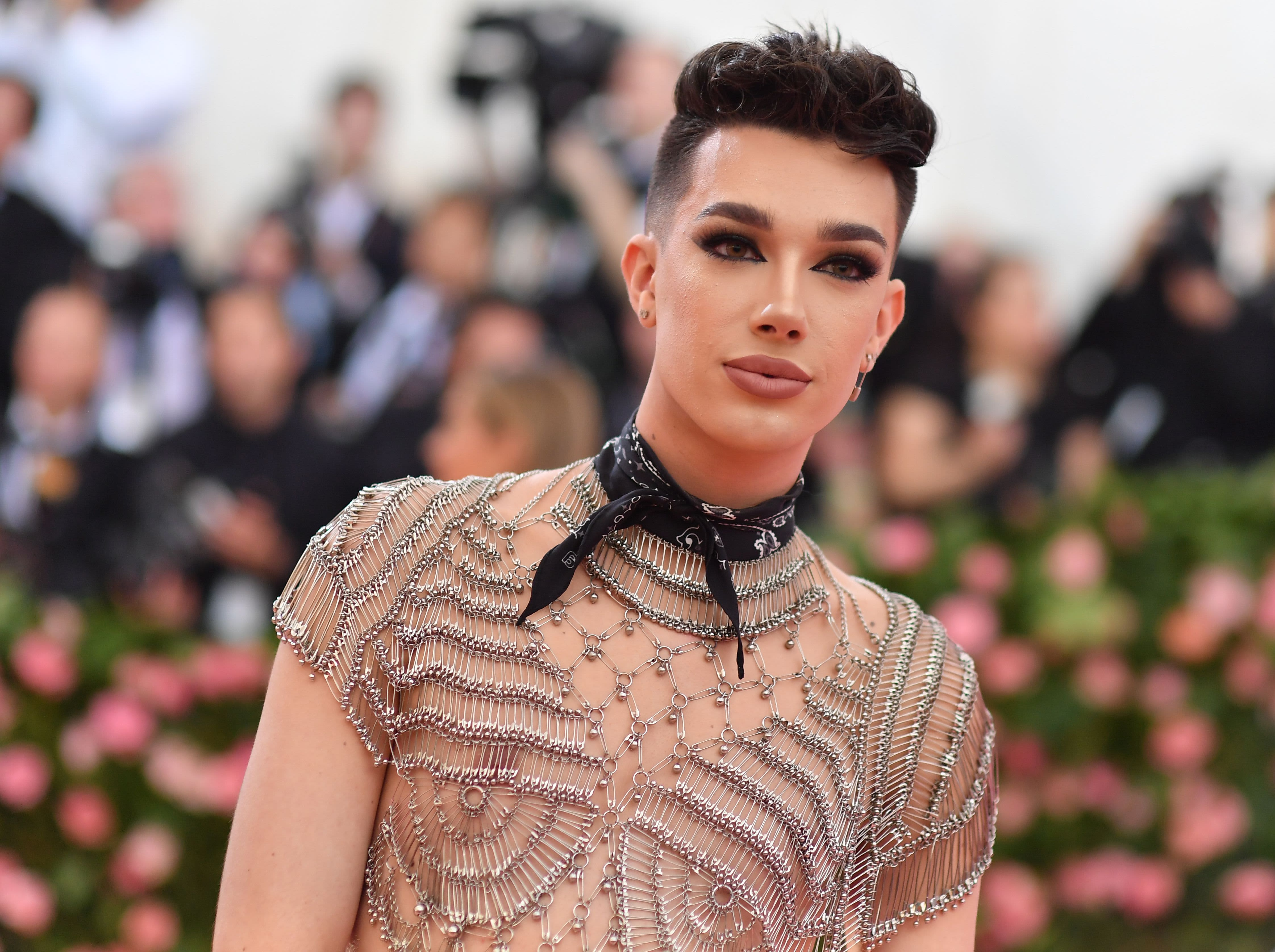 US internet personality James Charles arrives for the 2019 Met Gala at the Metropolitan Museum of Art on May 6, 2019, in New York.