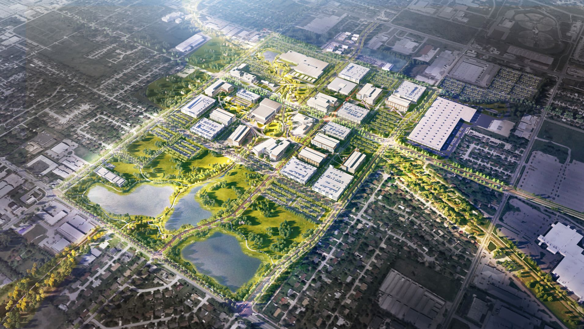 Walmart unveils plans for its sprawling new home office in Bentonville. Here is what it is going to look like.