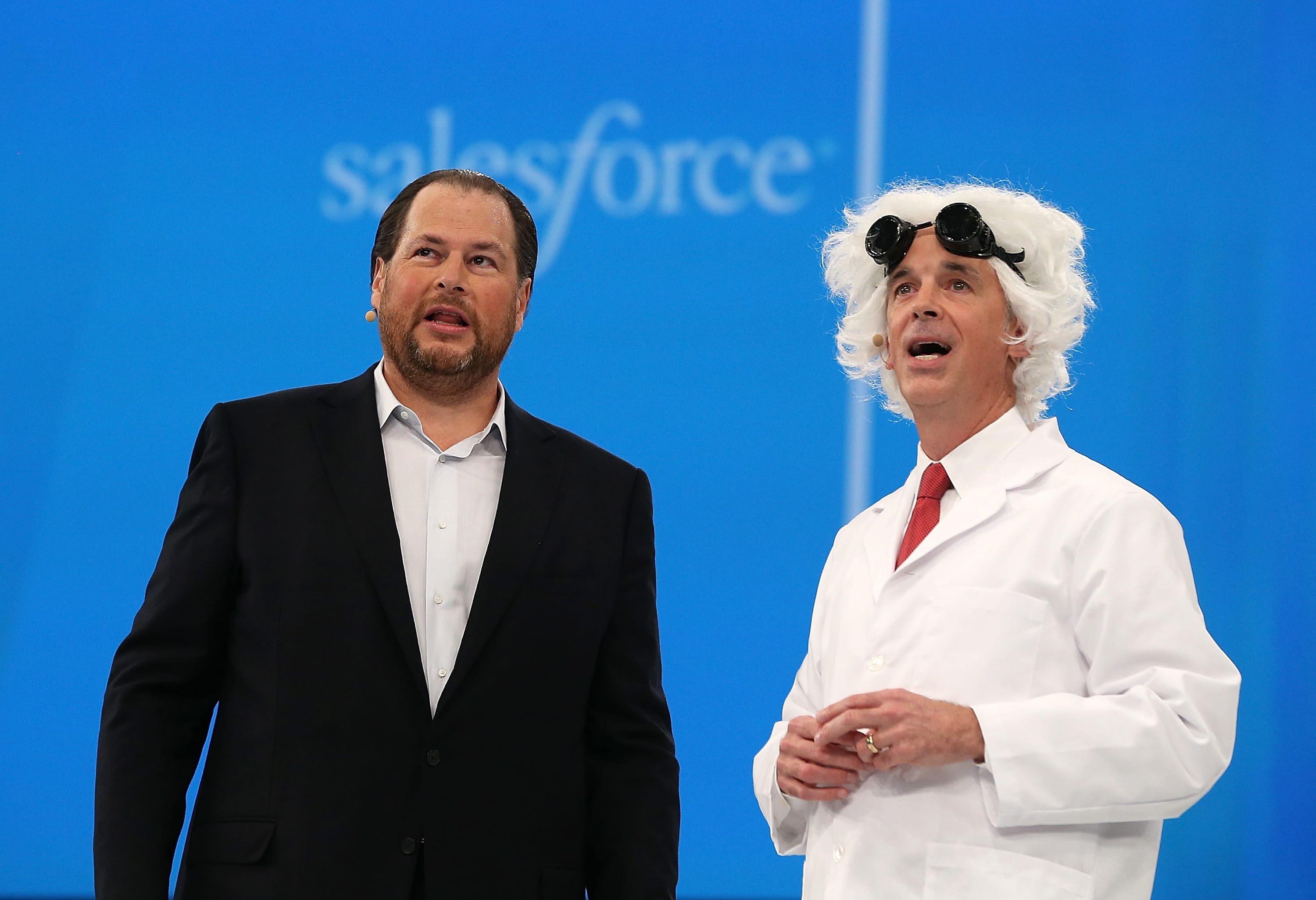 Salesforce stock drops sharply after announcing it will buy Tableau for $15.3 billion, the biggest acquisition in its history