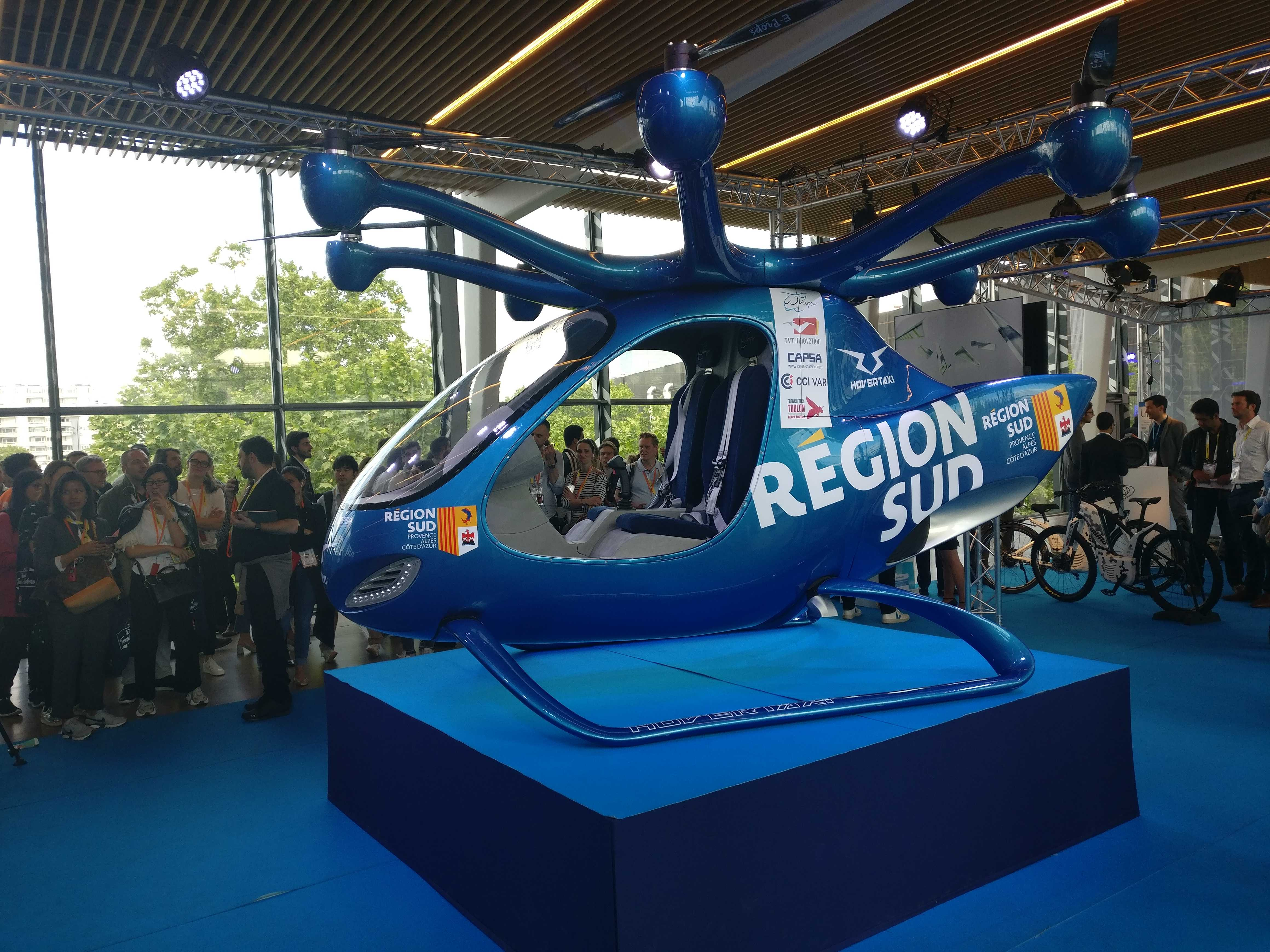 From air taxis to the Batmobile: The coolest and weirdest things at France's massive tech expo