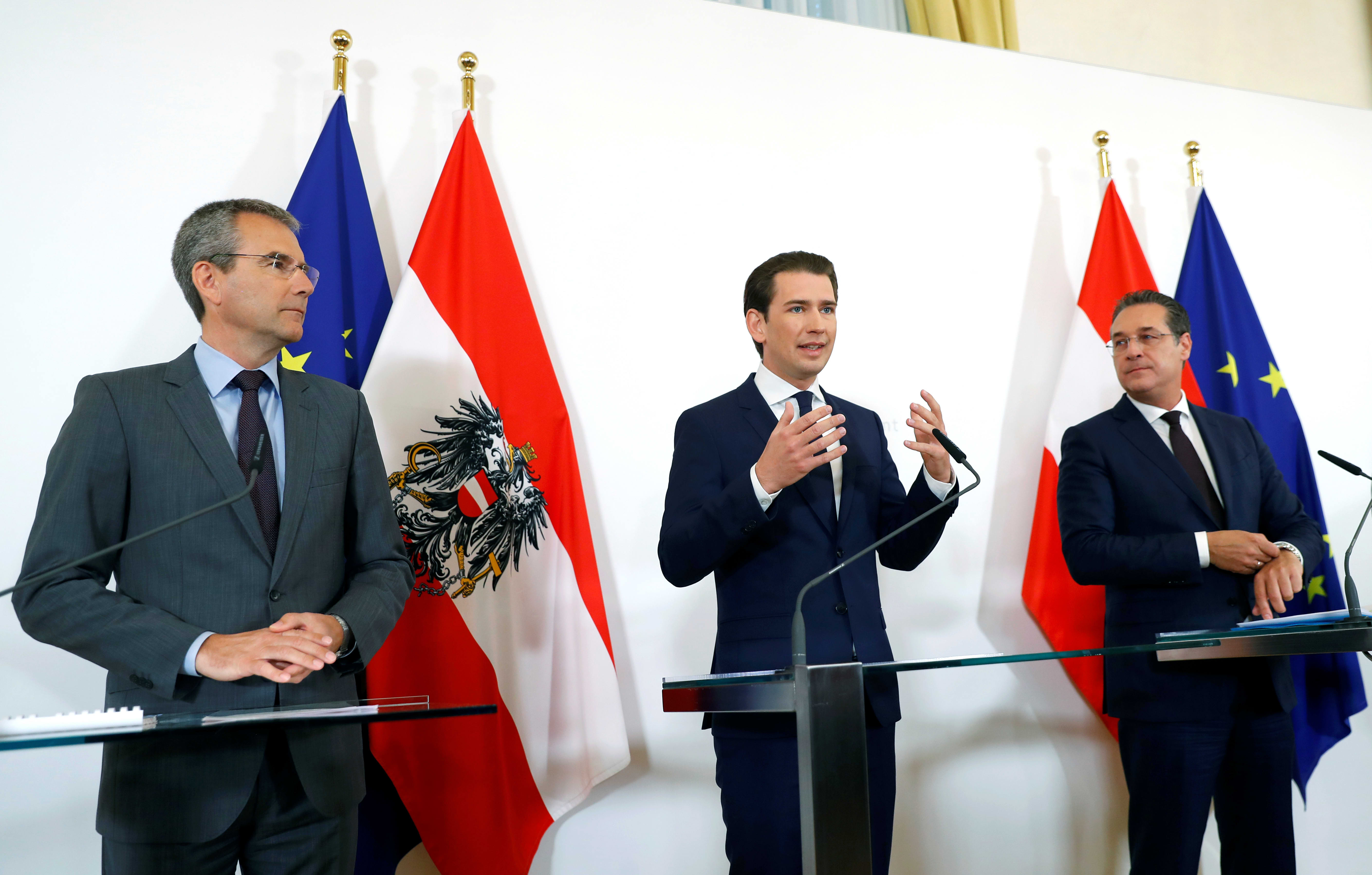 Austrian lawmakers sack Kurz as video sting fallout spreads
