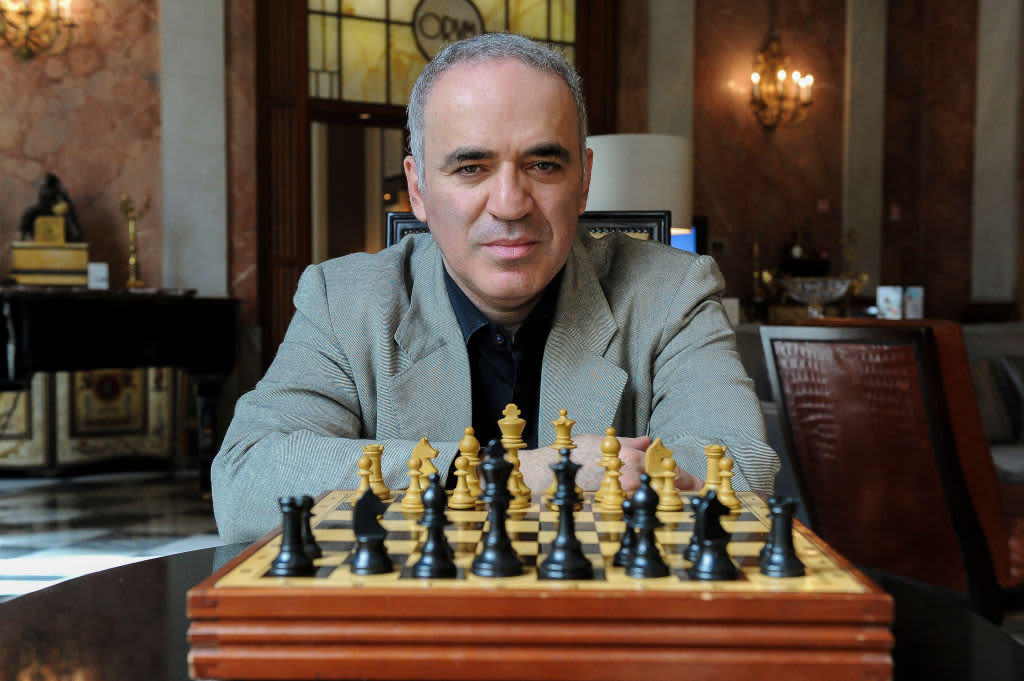 Chess master Garry Kasparov: Russia's tech threat is 'tactical,' China's 'strategic'