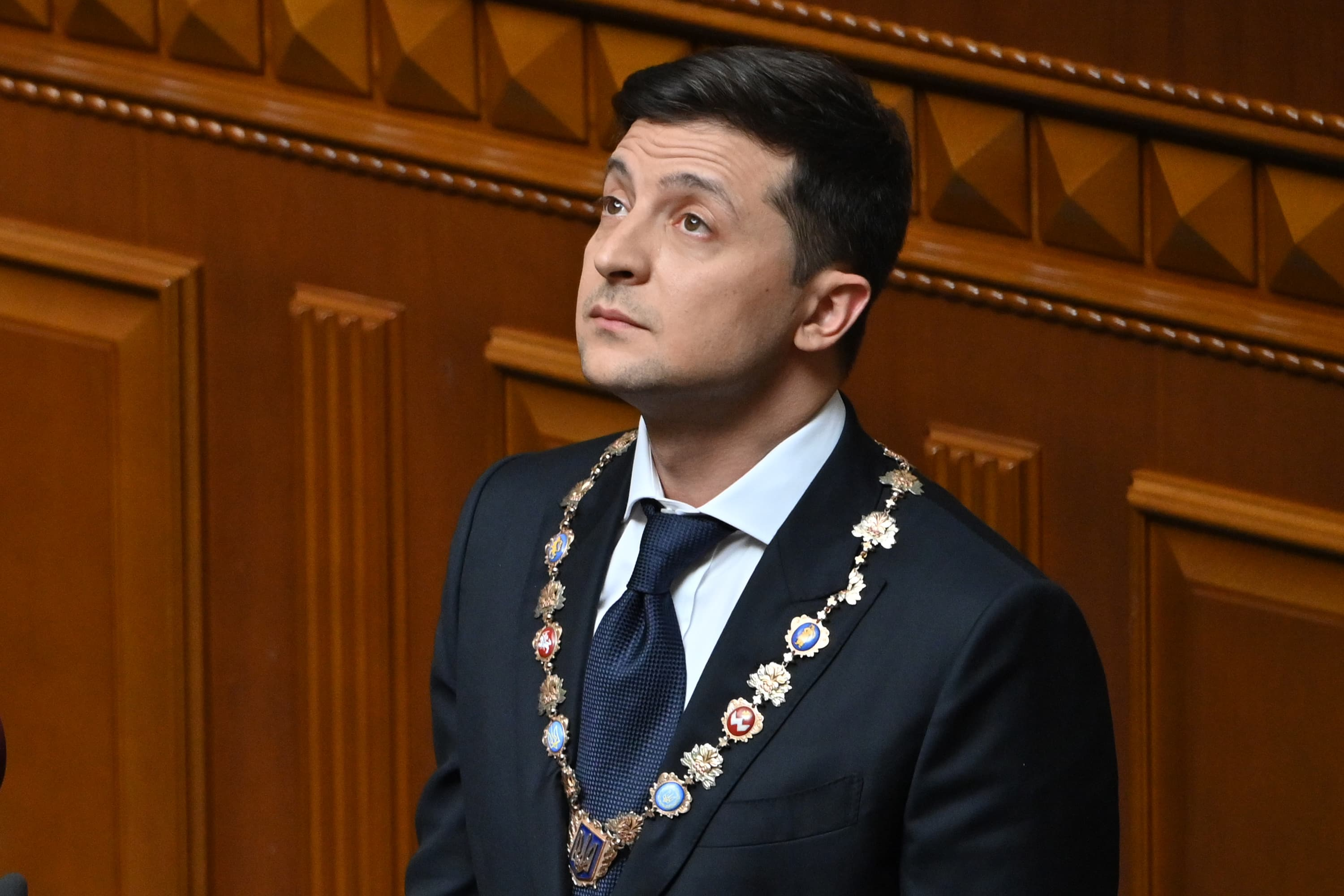 A bank scandal, an oligarch and the IMF: Ukraine's president has a lot to deal with right now