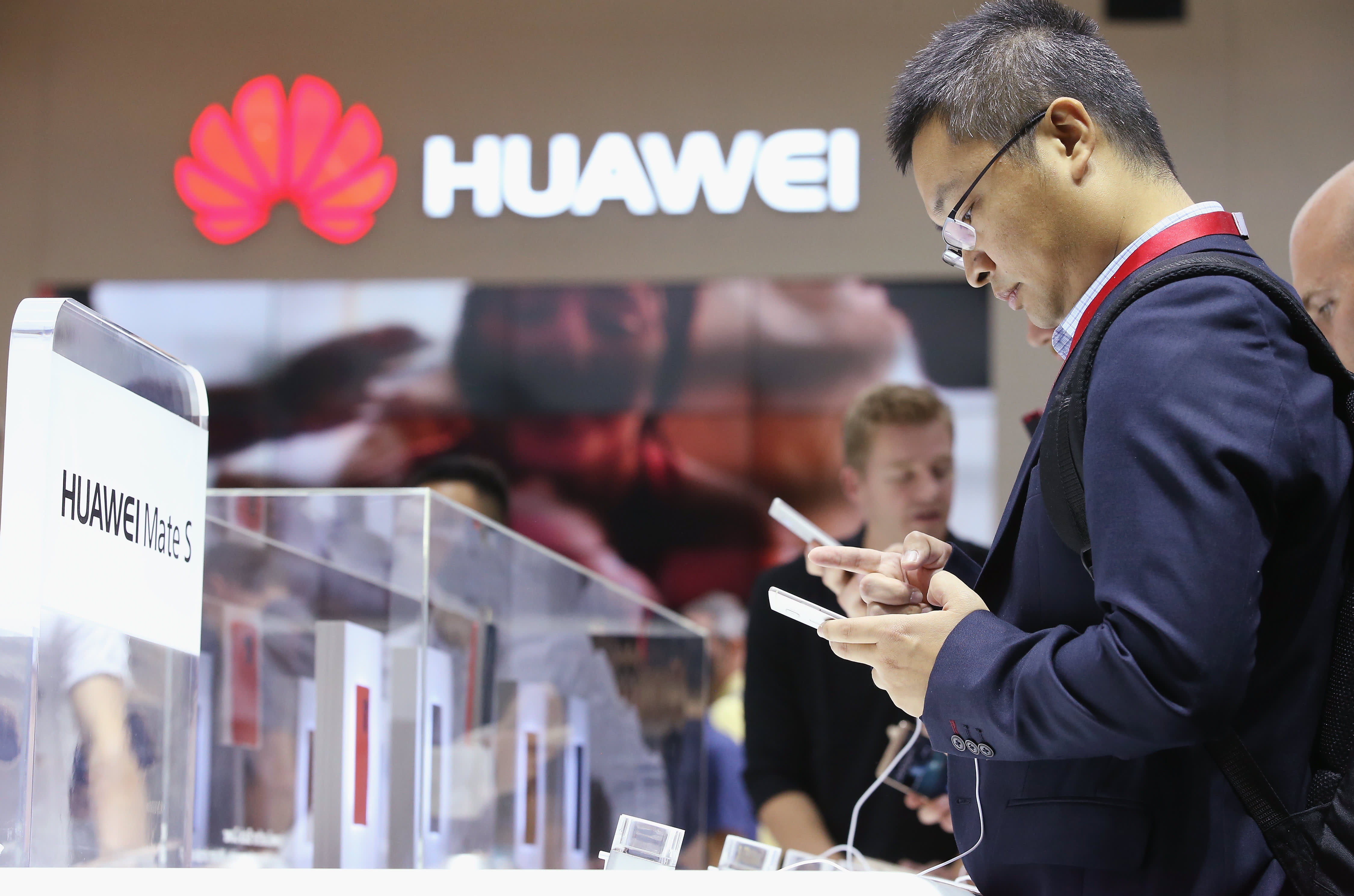 Chipmaker stocks plunge on report that companies are dropping business with Huawei
