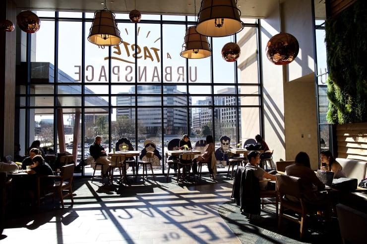 GP: Food Hall Casual Dining - Taste of Urbanspace