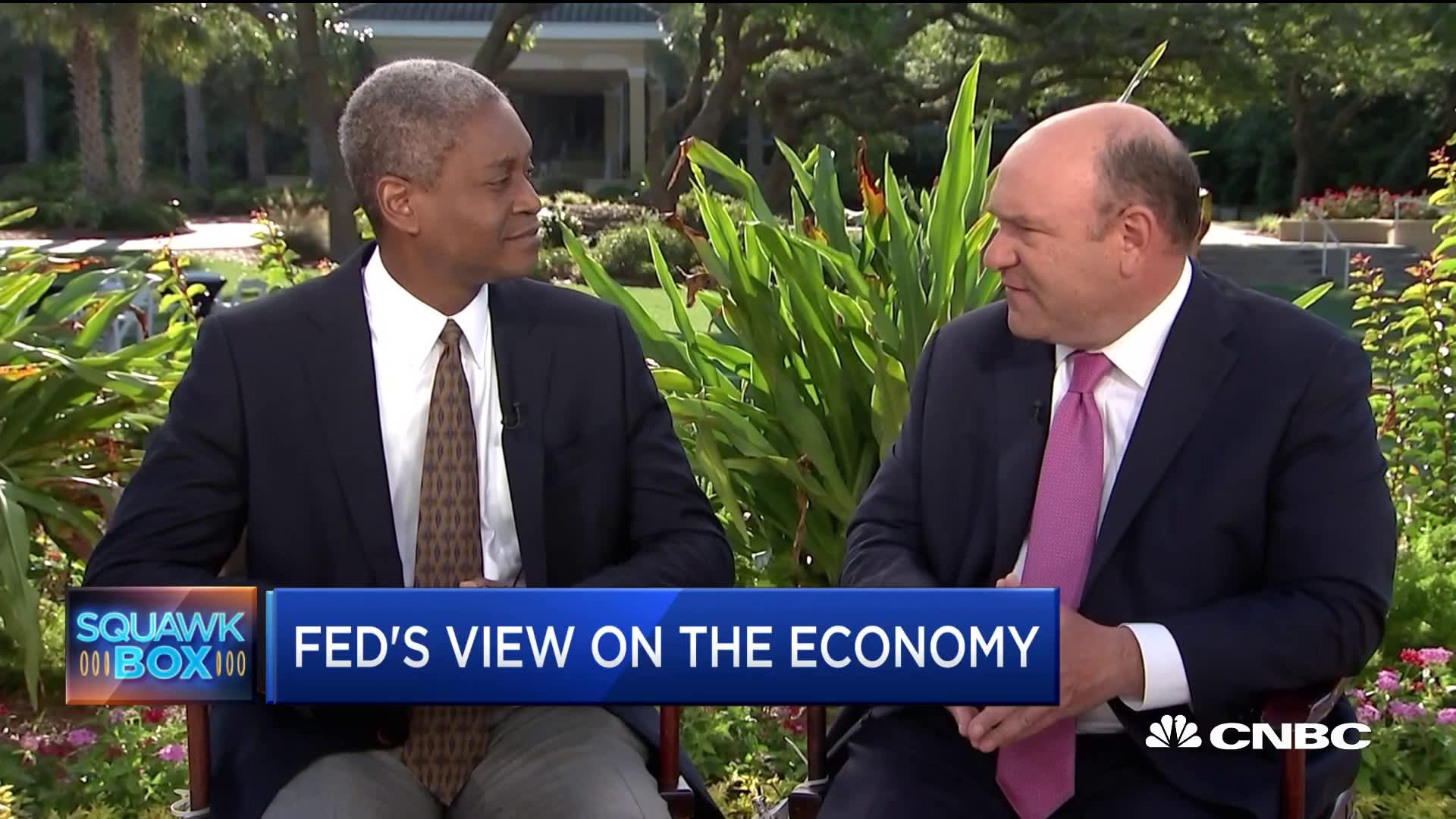 Atlanta Fed President Bostic does not see a rate cut this year like the market is telegraphing