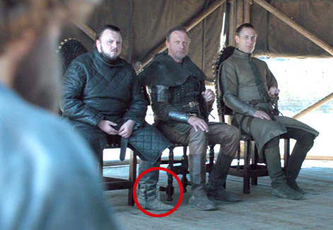 A water bottle was seen in the final episode of Game of Thrones.