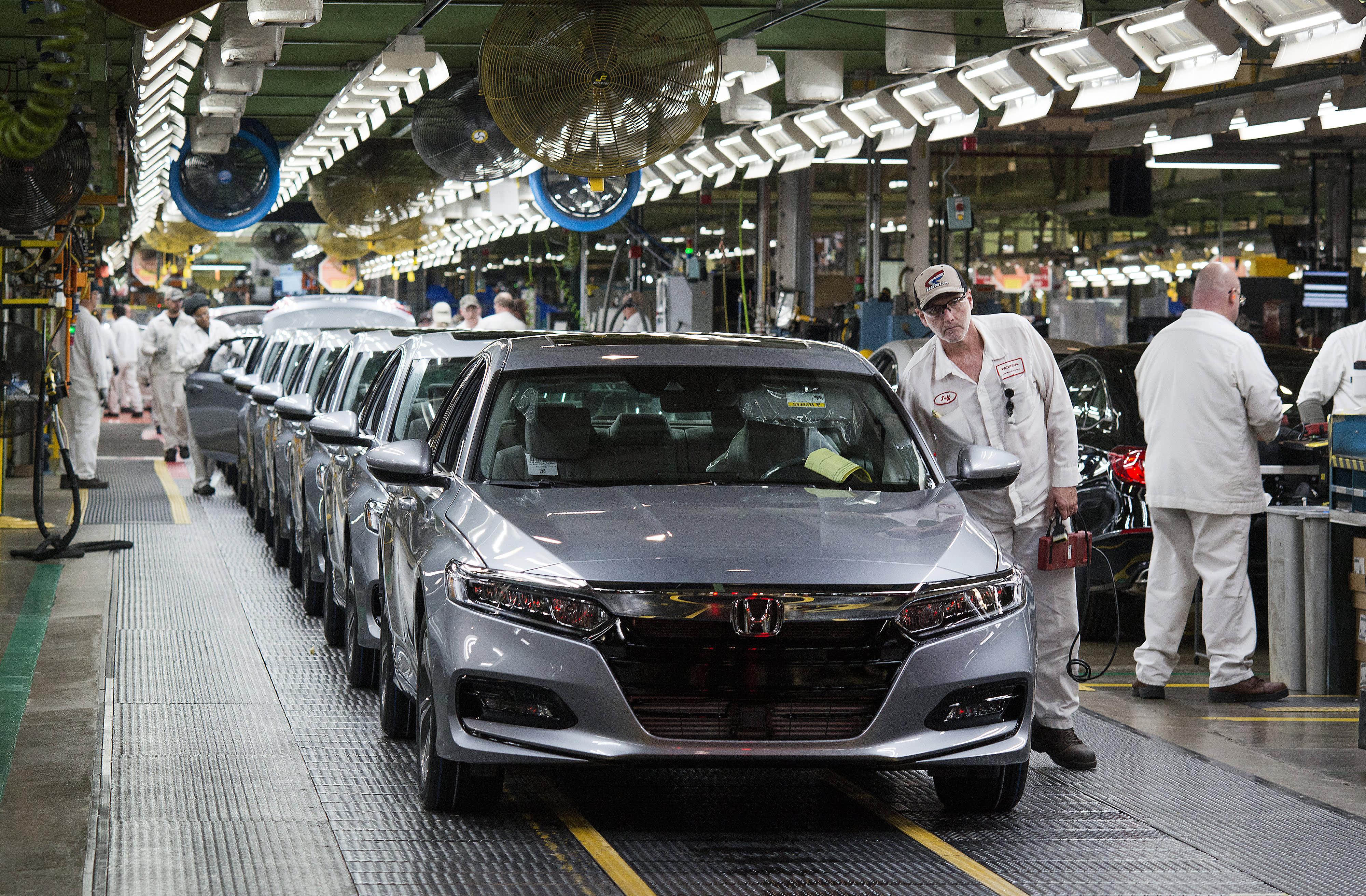 Honda North America shuts down U.S. plants due to outbreak