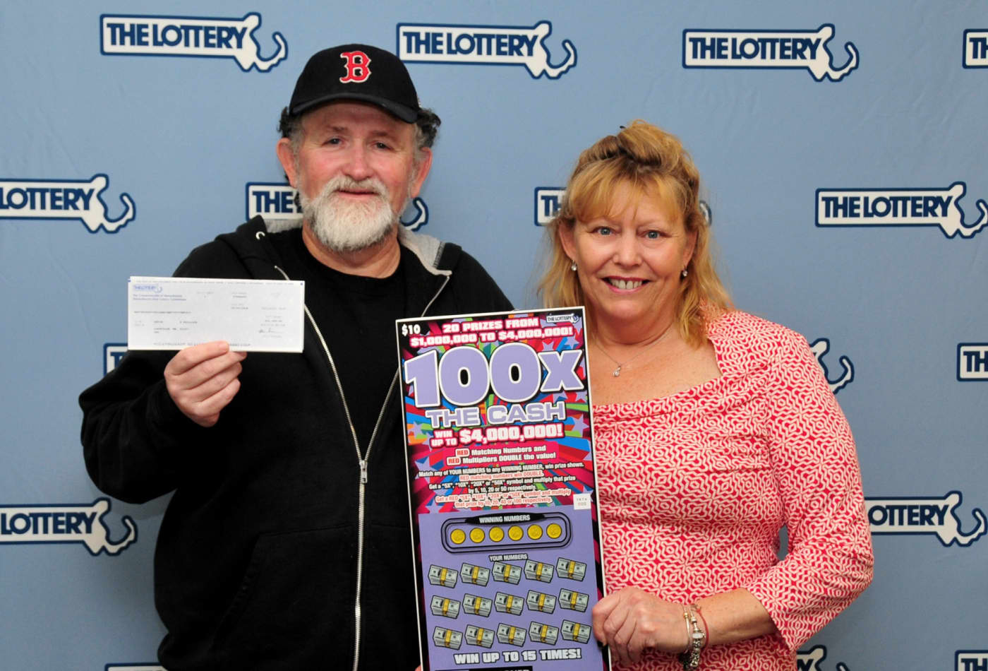 Massachusetts husband and wife both won million-dollar lotteries