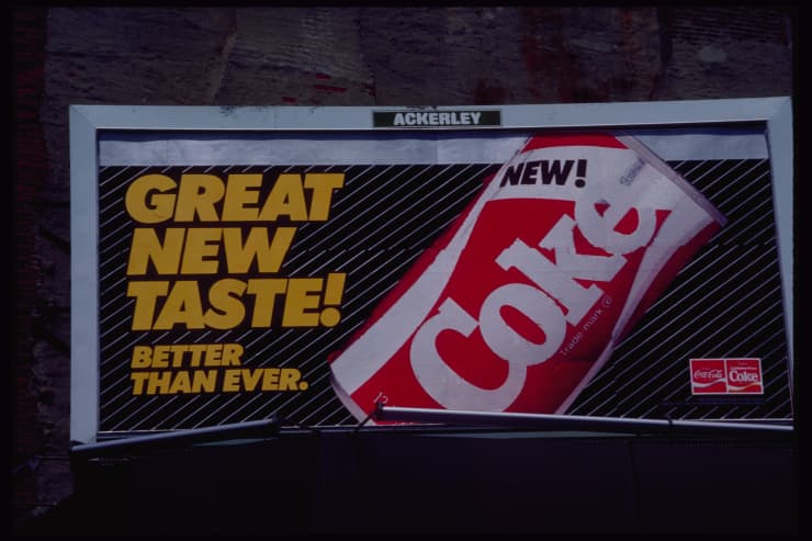 GP: Billboard for the New Coke