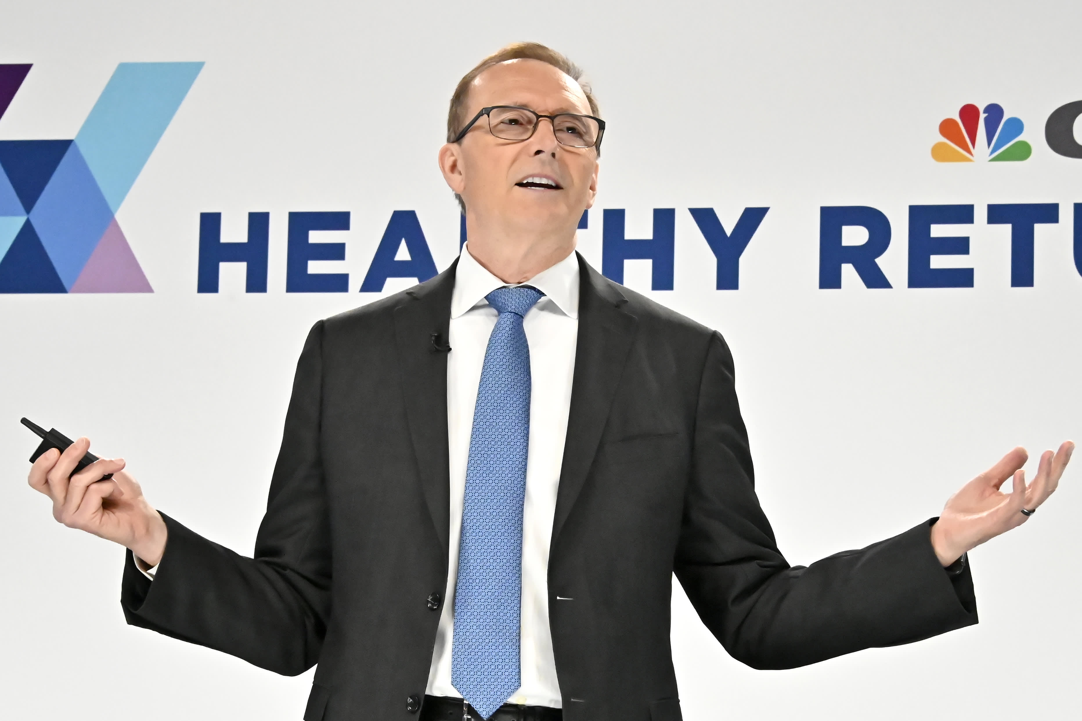 Dr. Ed Ellison, speaking at CNBC's Healthy Returns conference in New York on May 21, 2019.